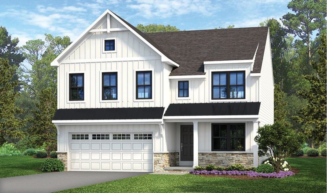 Exterior featured in the Lachlan Farmhouse By Keystone Custom Homes in York, PA