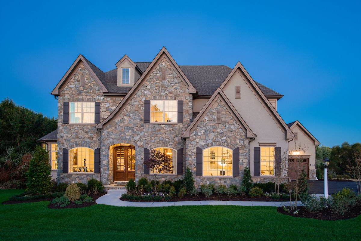 Exterior featured in the Devonshire Manor By Keystone Custom Homes in Lancaster, PA
