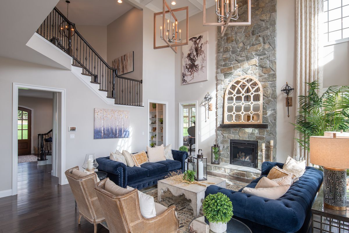 Living Area featured in the Devonshire Manor By Keystone Custom Homes in Lancaster, PA