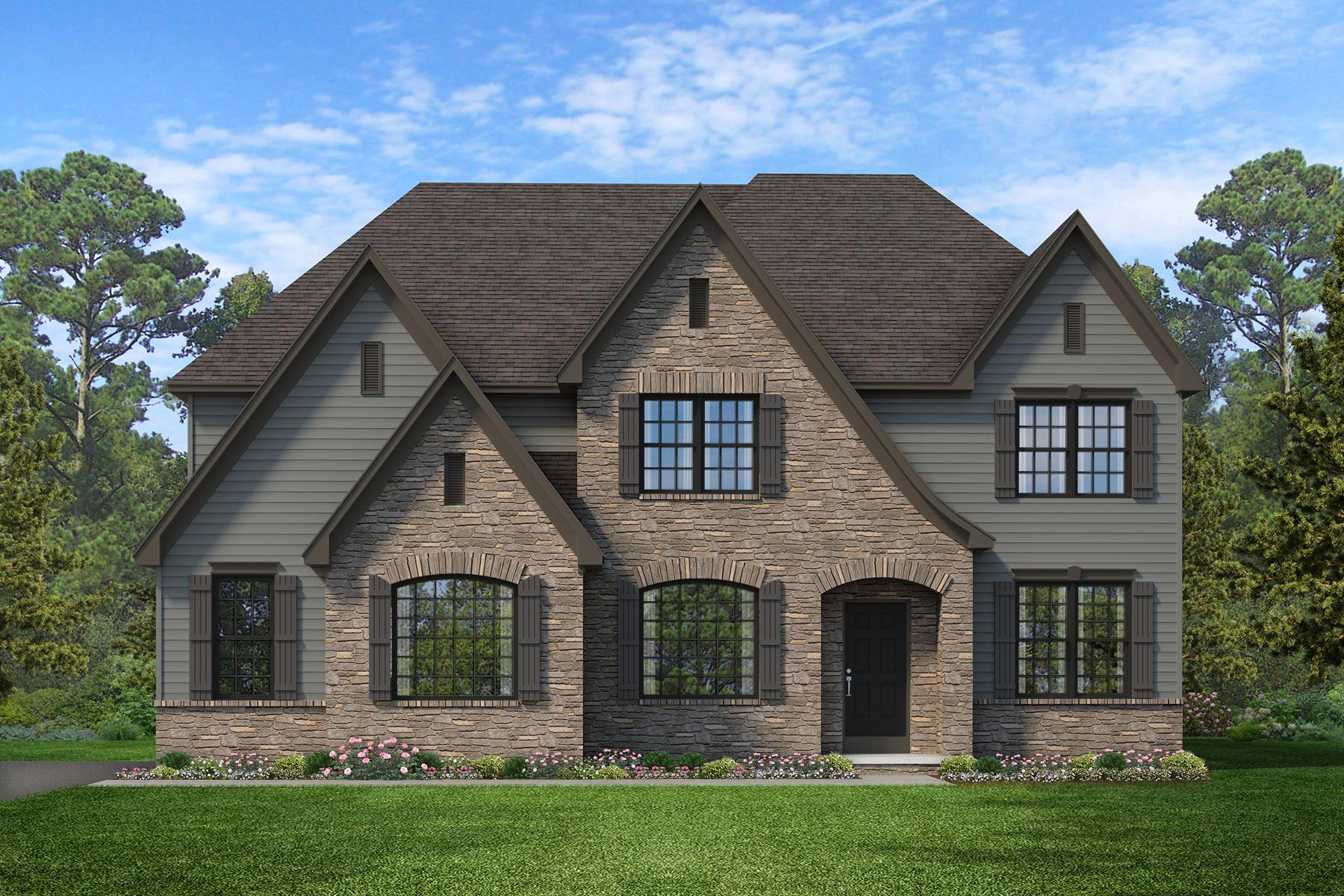 Exterior featured in the Devonshire Manor By Keystone Custom Homes in Baltimore, MD