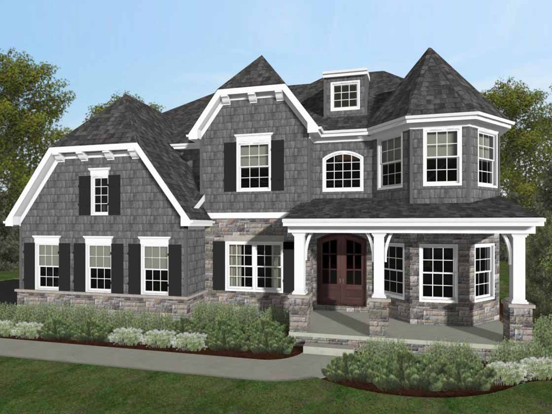 Exterior featured in the Devonshire Heritage By Keystone Custom Homes in Lancaster, PA