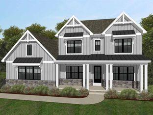 Nottingham Farmhouse - The Summit at Aylesbury: Catonsville, Maryland - Keystone Custom Homes