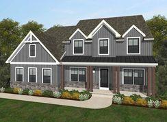 Ethan Farmhouse - Bishop Woods: Elizabethtown, Pennsylvania - Keystone Custom Homes
