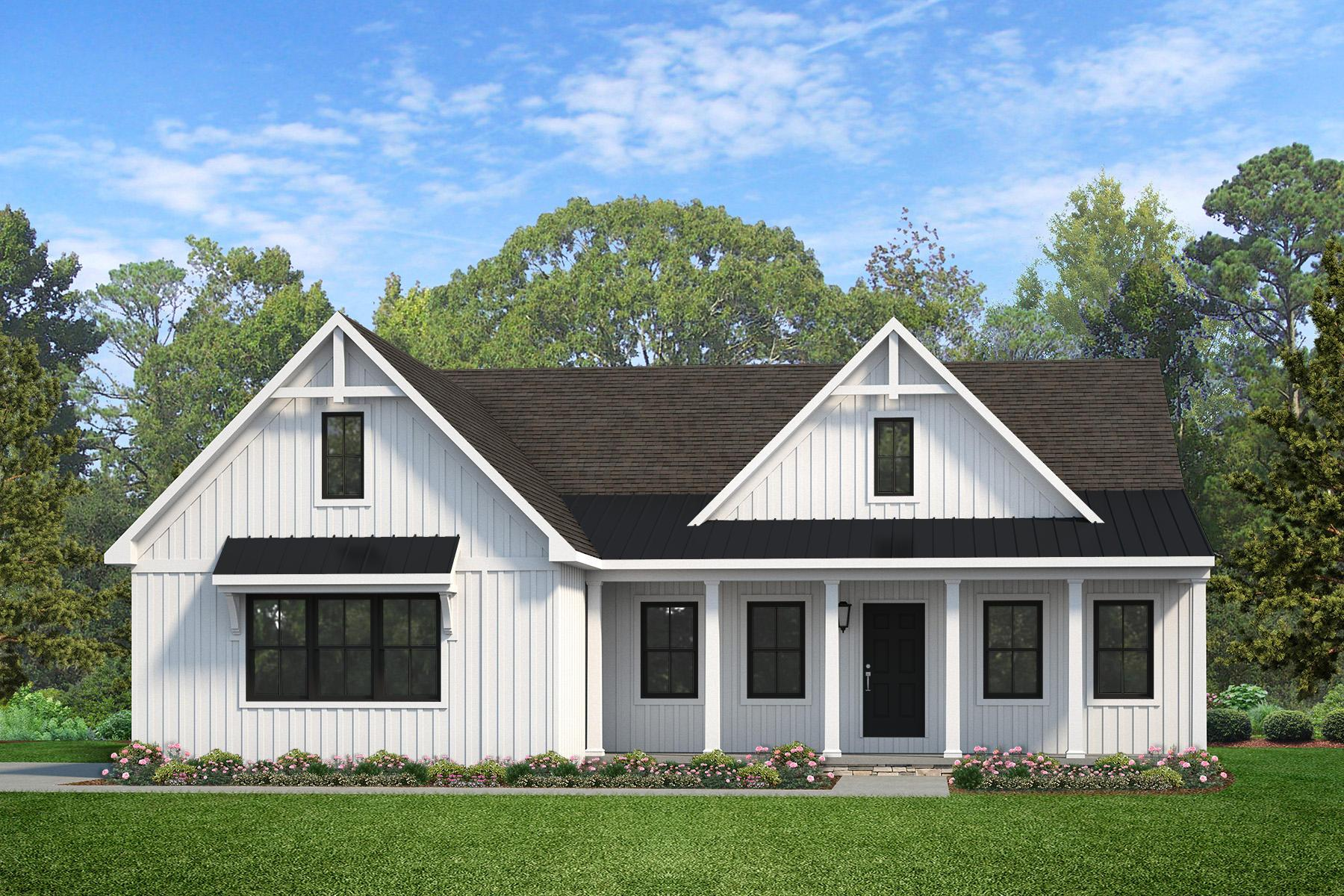 Exterior featured in the Arcadia Farmhouse By Keystone Custom Homes in York, PA