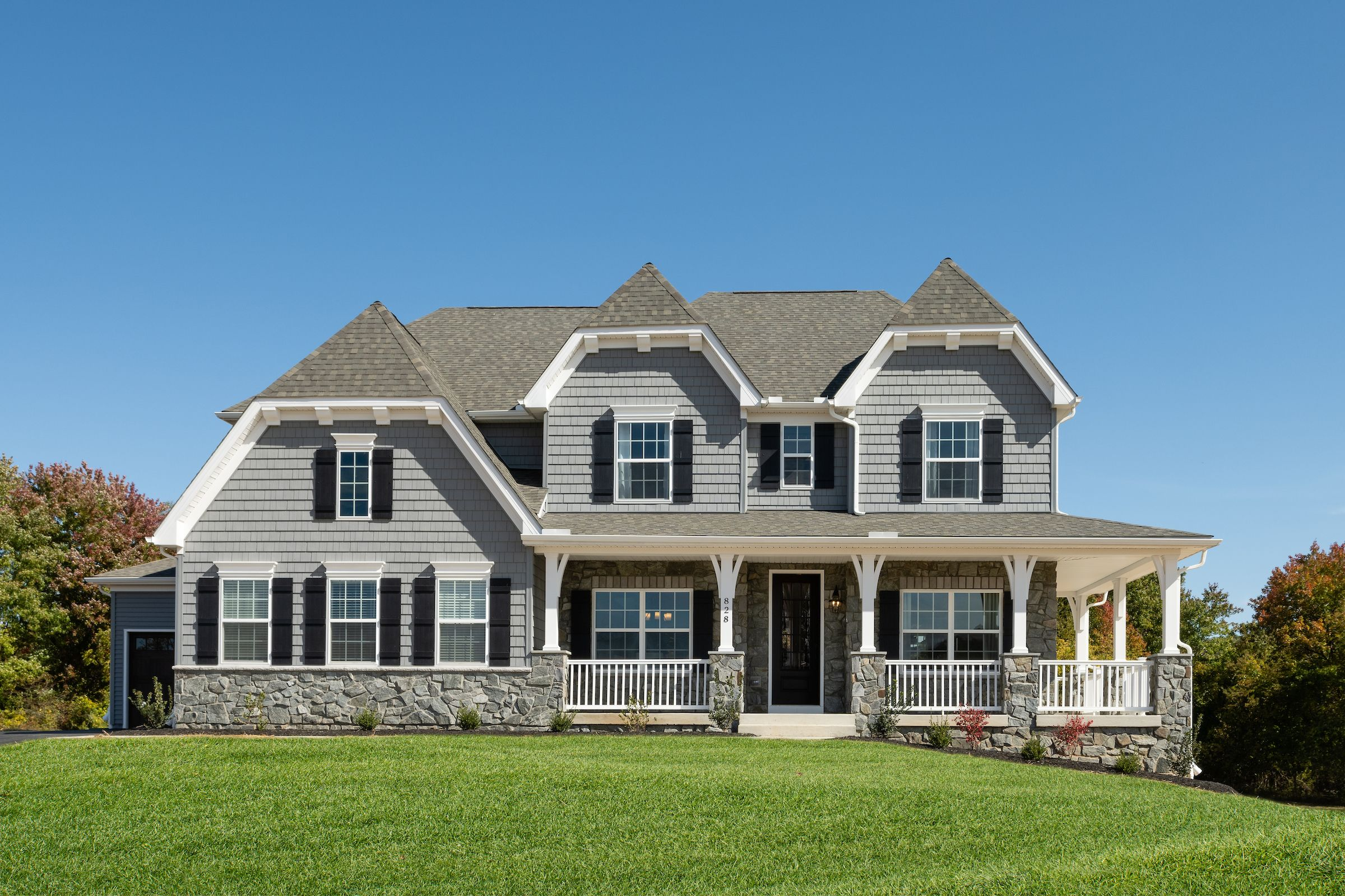 Exterior featured in the Hawthorne Vintage By Keystone Custom Homes in York, PA