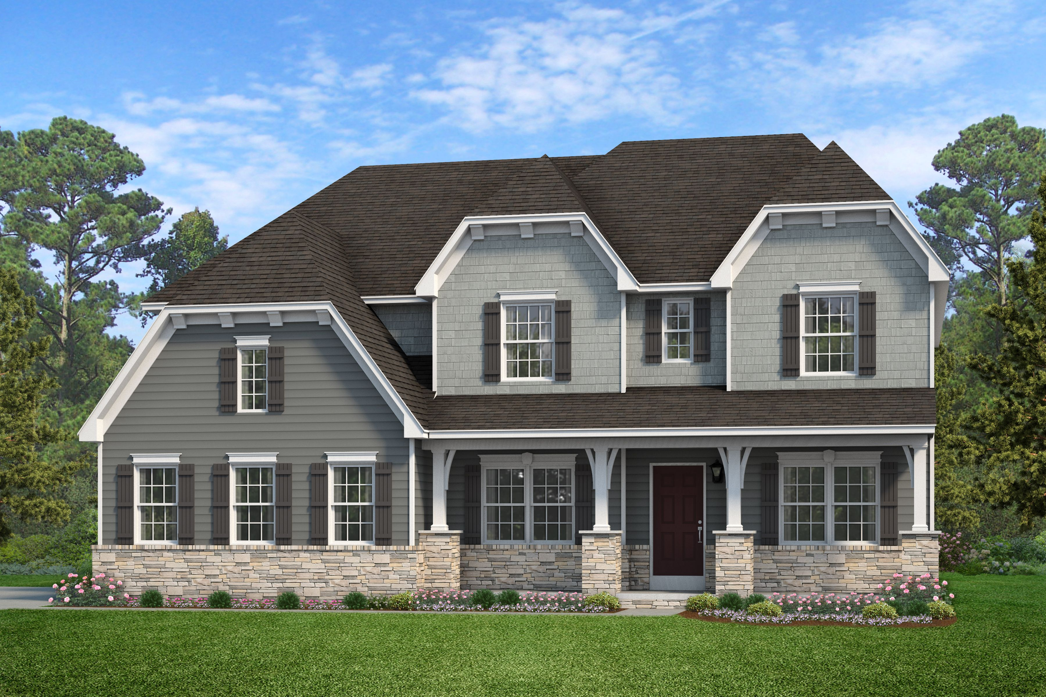 Exterior featured in the Hawthorne Heritage By Keystone Custom Homes in Lancaster, PA