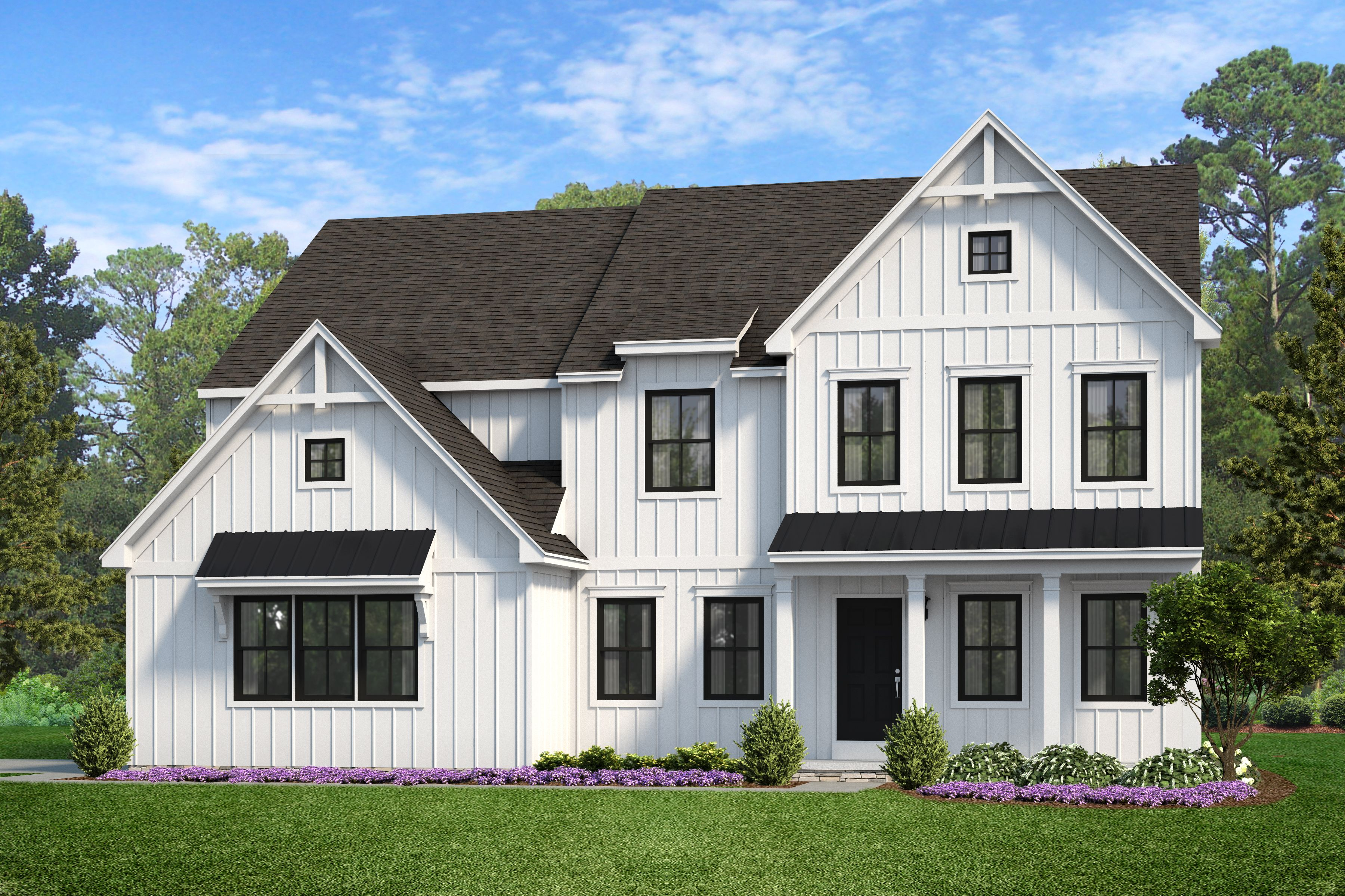Exterior featured in the Hawthorne Farmhouse By Keystone Custom Homes in York, PA