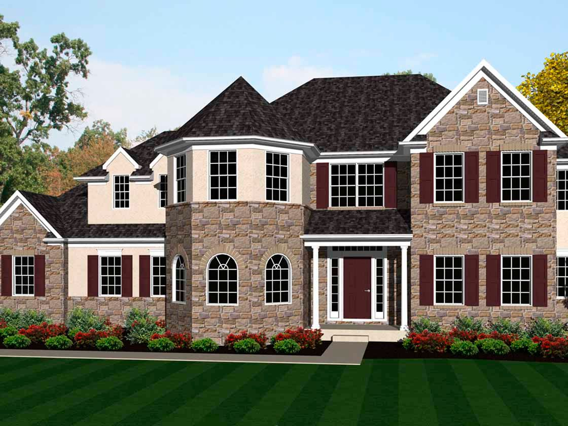 Exterior featured in the Samson Heritage By Keystone Custom Homes in Baltimore, MD