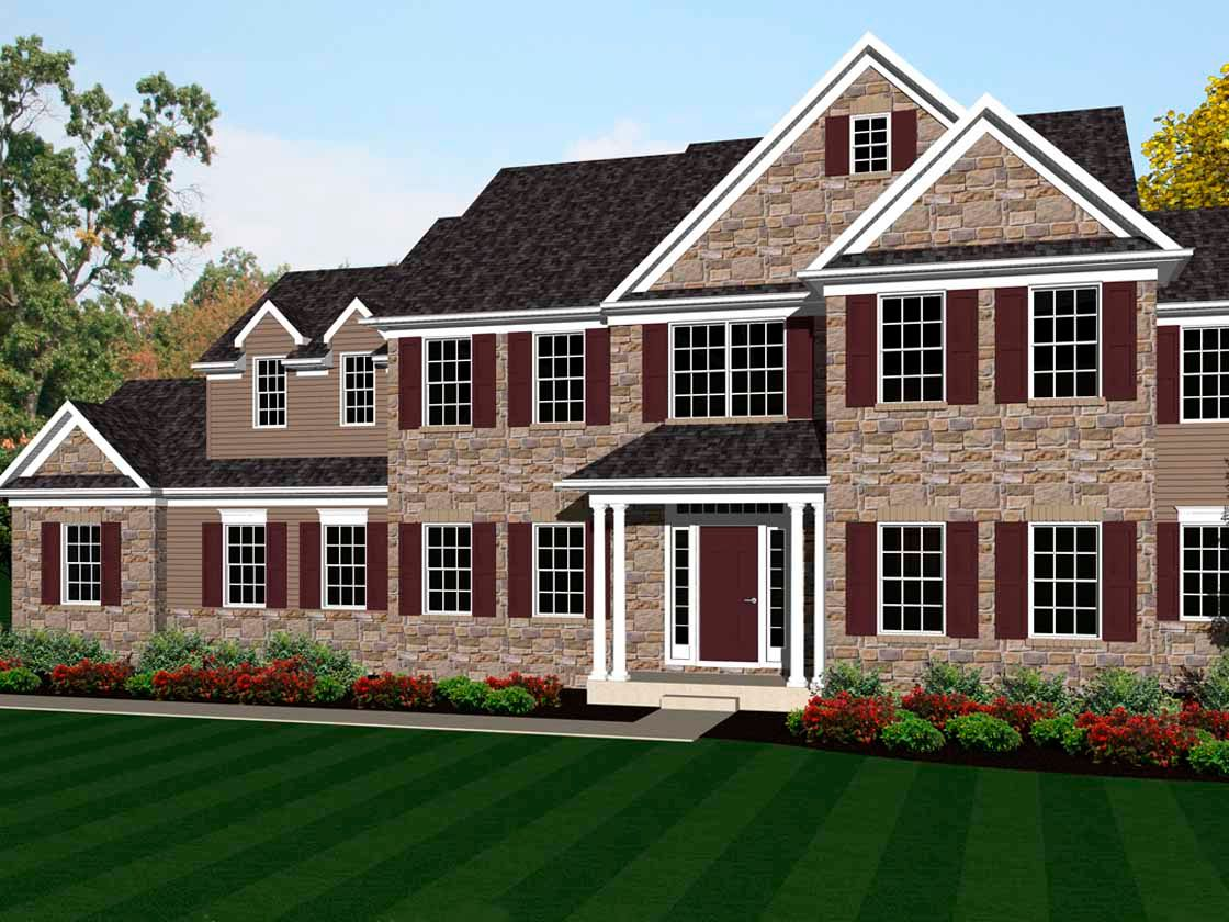 Exterior featured in the Samson Vintage By Keystone Custom Homes in Baltimore, MD