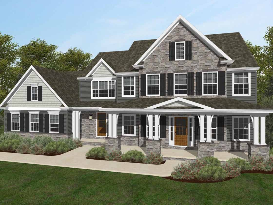 Exterior featured in the Lexington Heritage By Keystone Custom Homes in Lancaster, PA