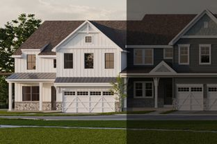 Cumberland Farmhouse - End Unit - Kellerton Villas: Frederick, Maryland - Keystone Custom Homes