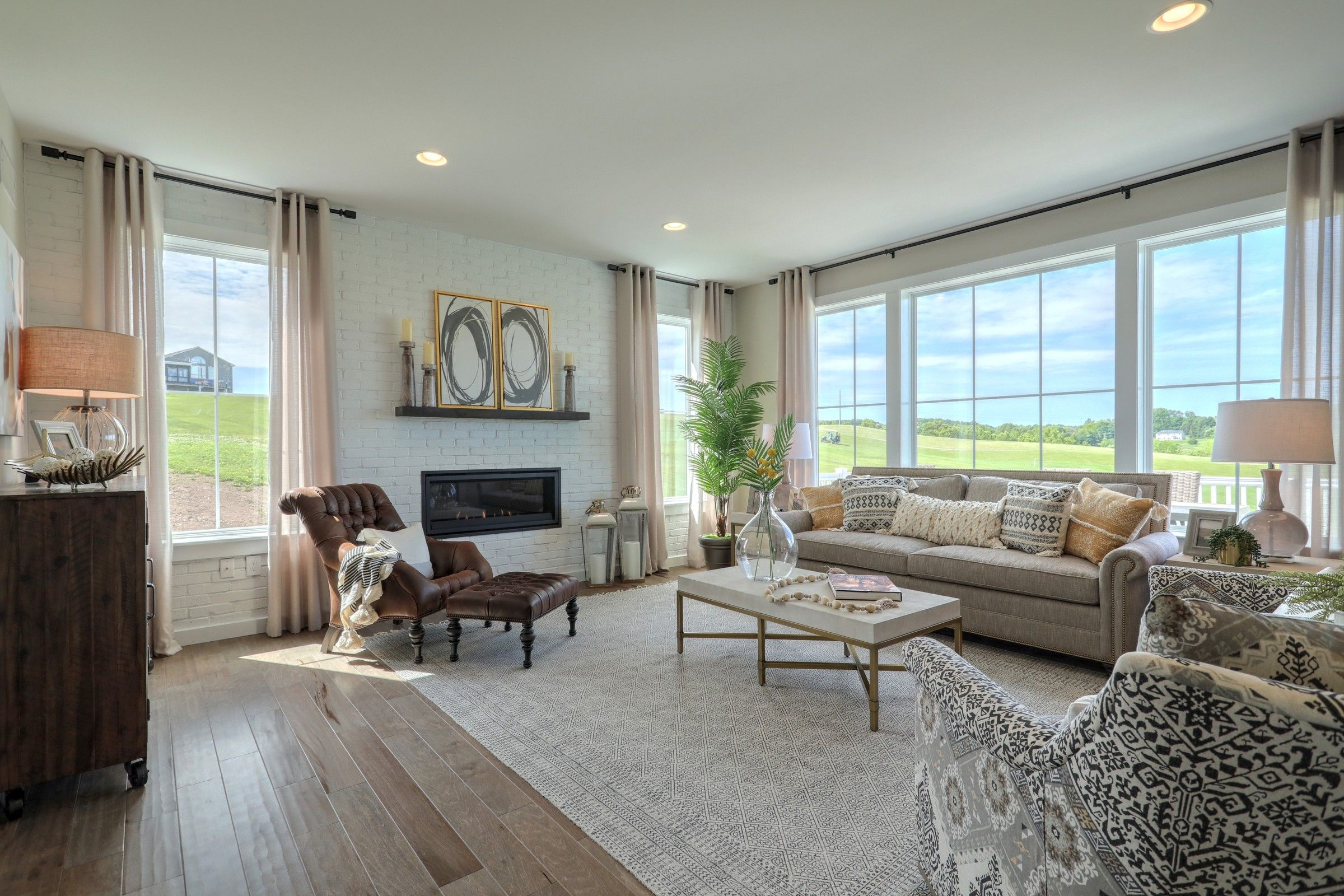 Living Area featured in the Parker Traditional By Keystone Custom Homes in York, PA
