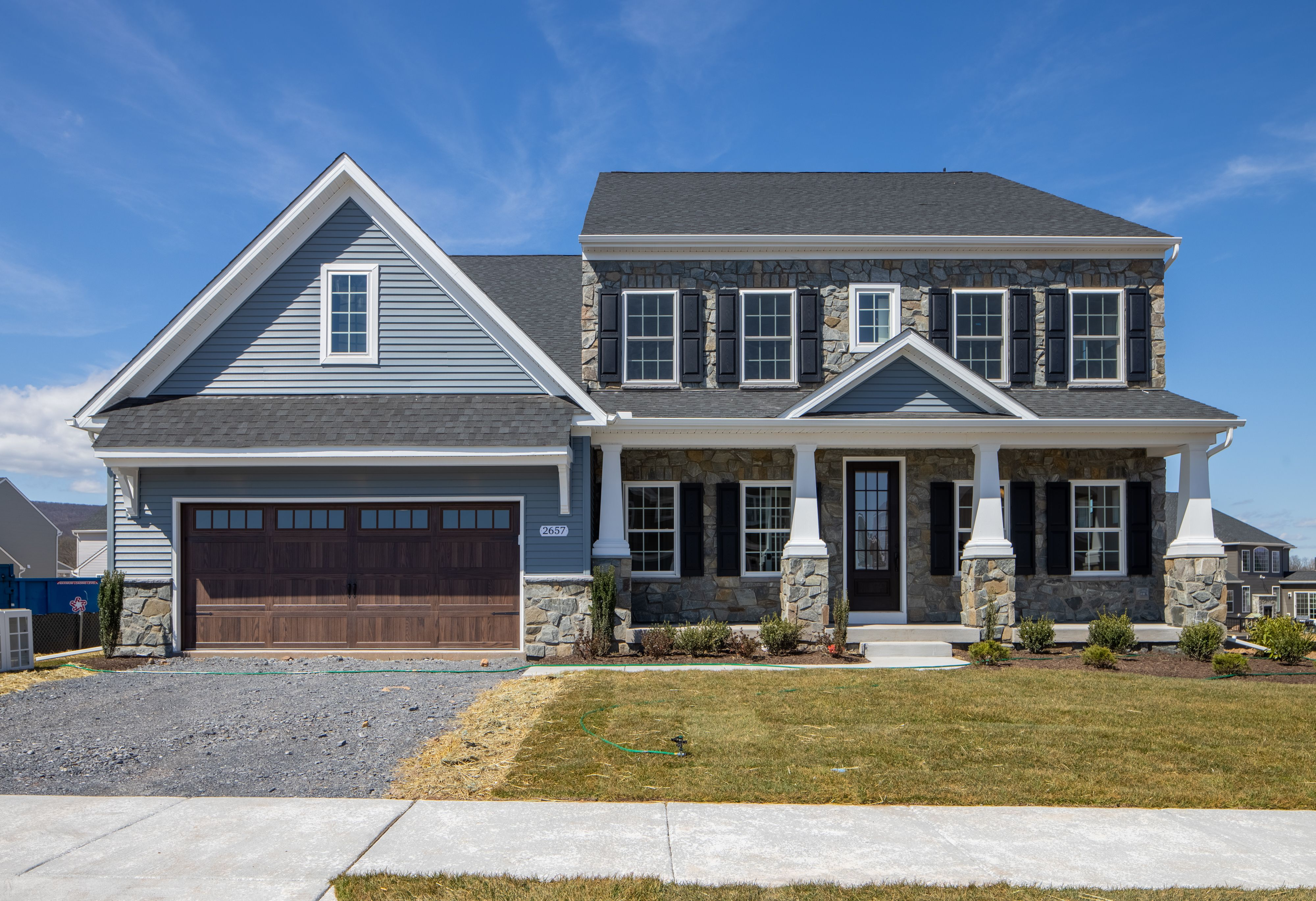 Exterior featured in the Nottingham Farmhouse By Keystone Custom Homes in Wilmington-Newark, MD