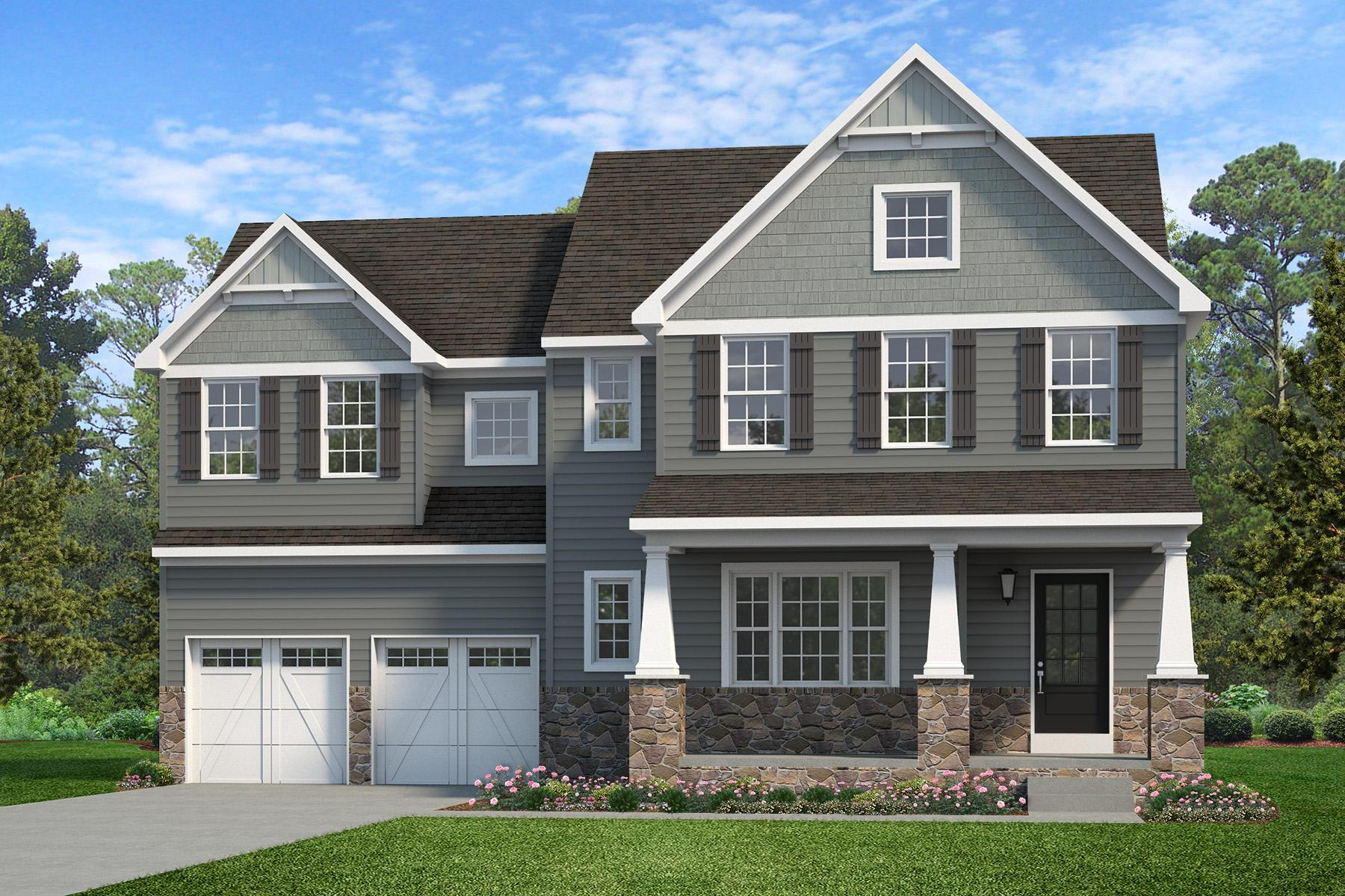 Exterior featured in the Sebastian Heritage By Keystone Custom Homes in York, PA