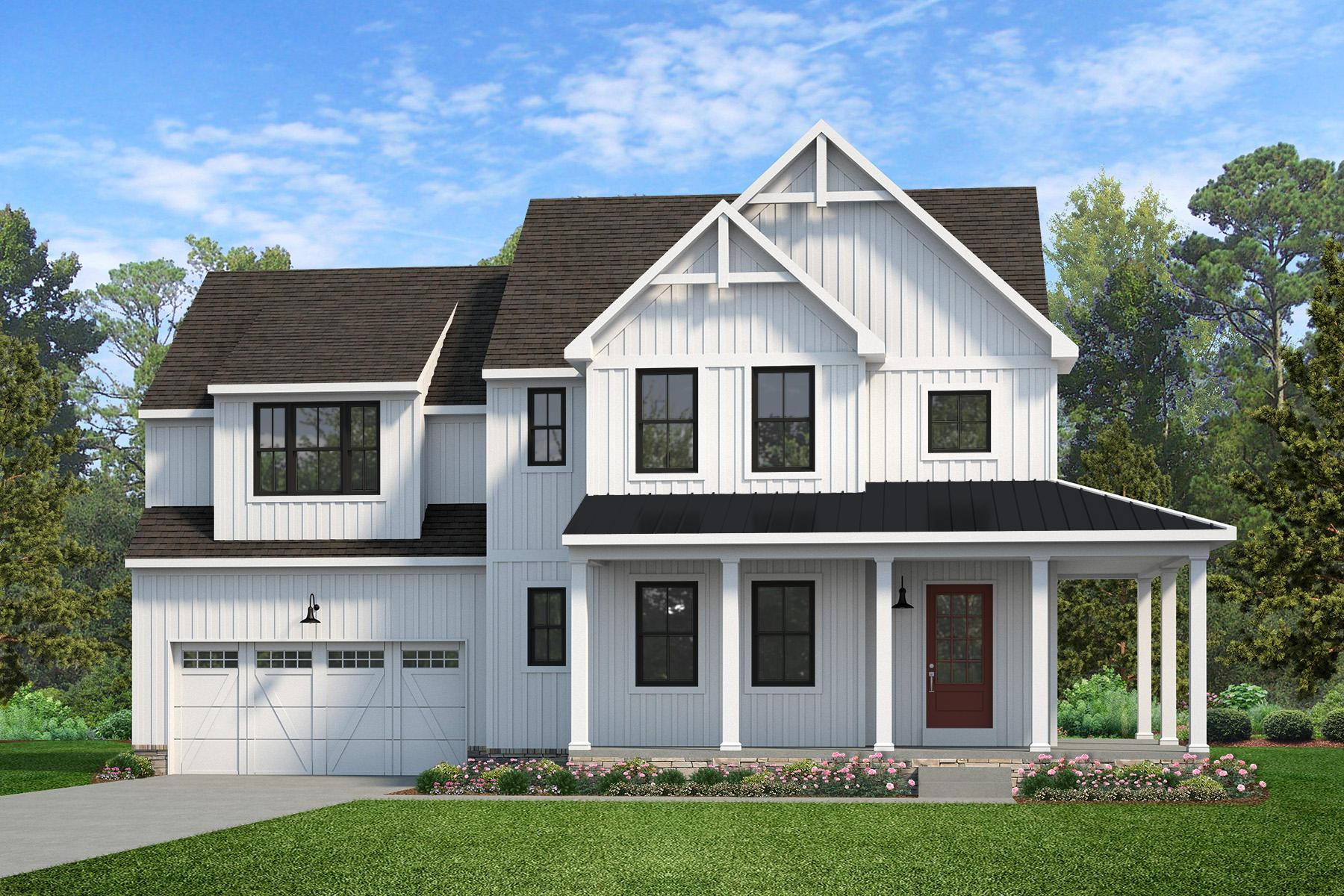 Exterior featured in the Sebastian Farmhouse By Keystone Custom Homes in York, PA
