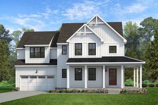 Sebastian Farmhouse - Cool Springs at Charlestown: North East, Delaware - Keystone Custom Homes
