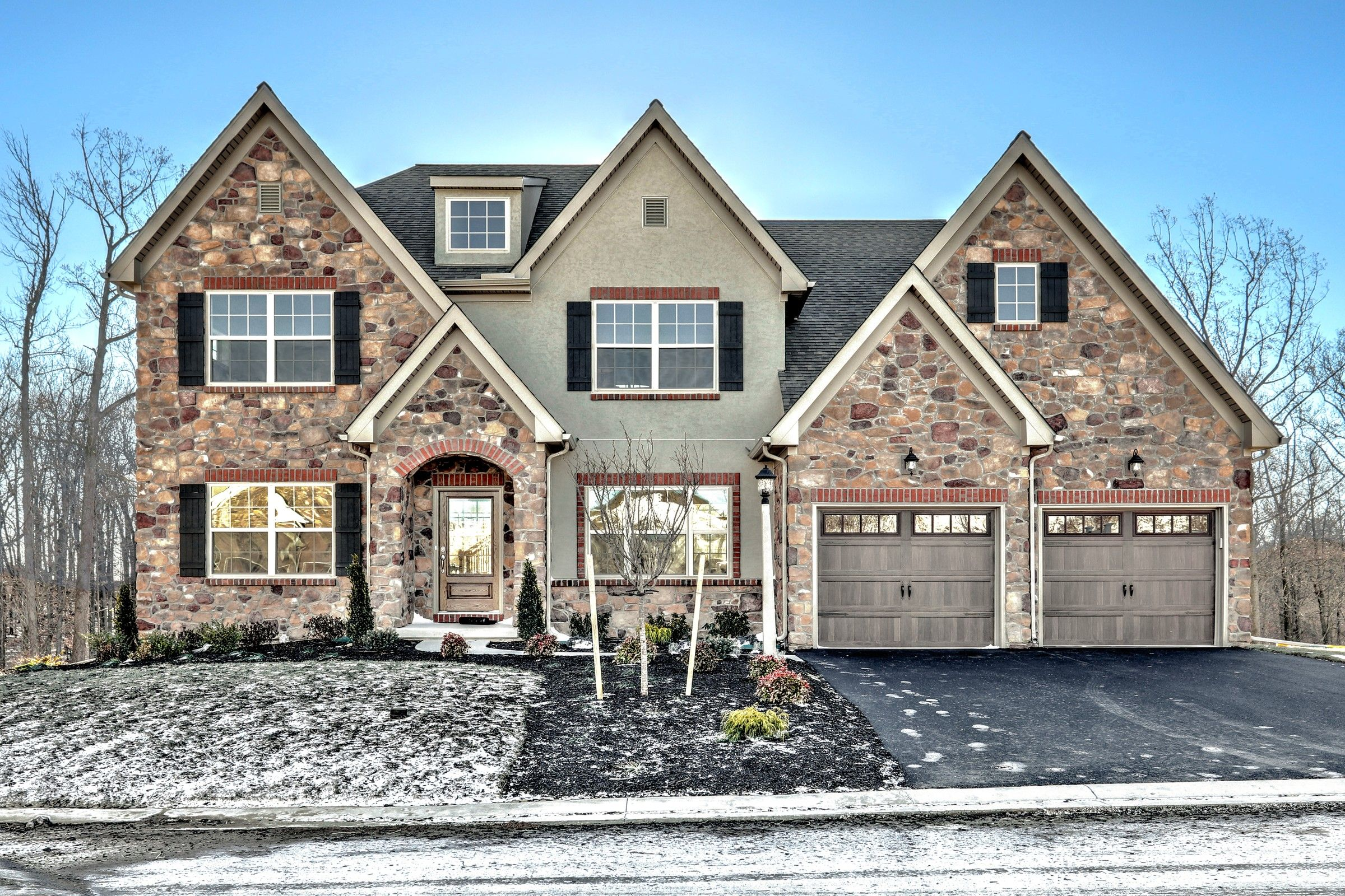 Exterior featured in the Ethan Bordeaux By Keystone Custom Homes in Baltimore, MD