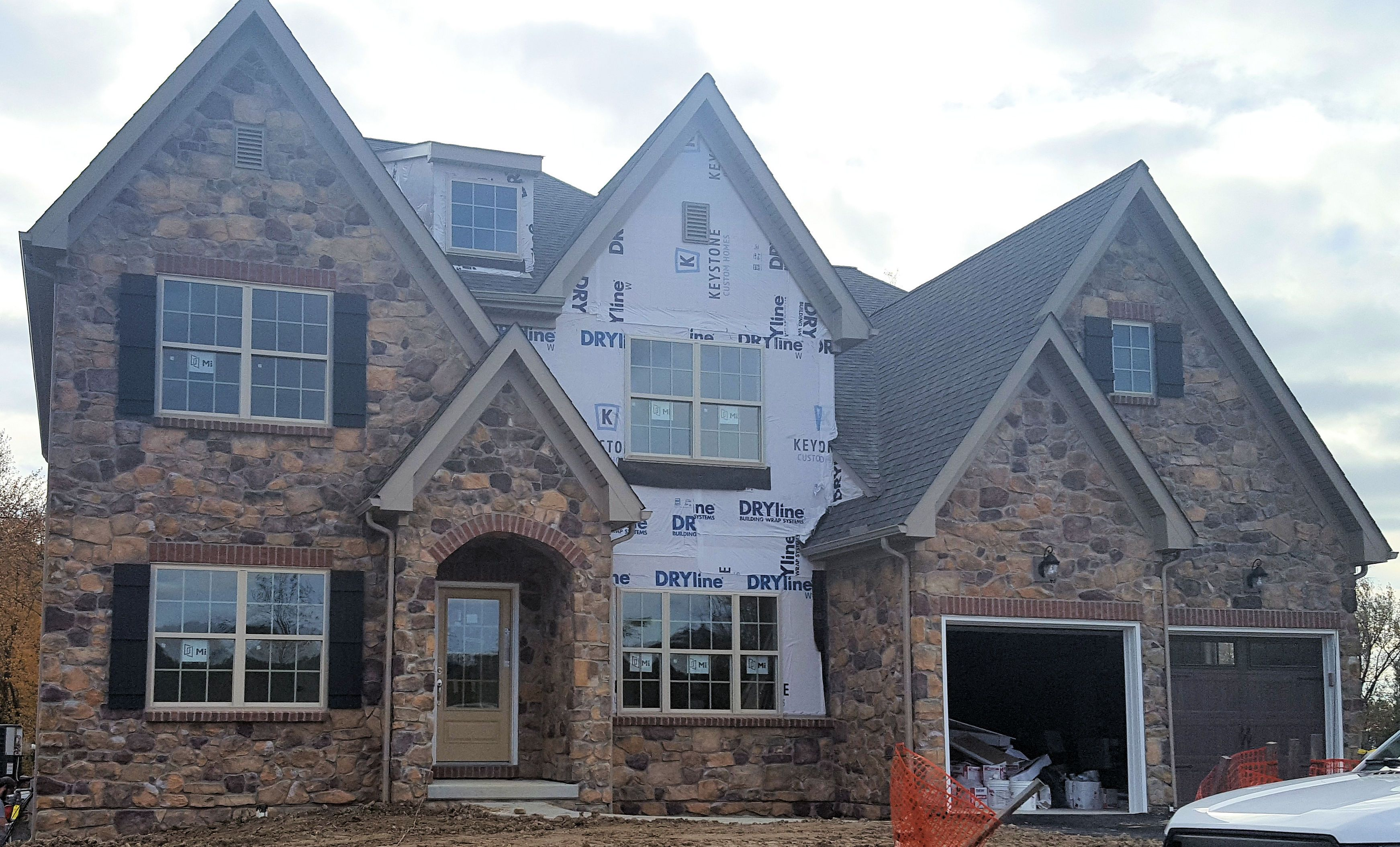 Exterior featured in the Ethan Heritage By Keystone Custom Homes in York, PA