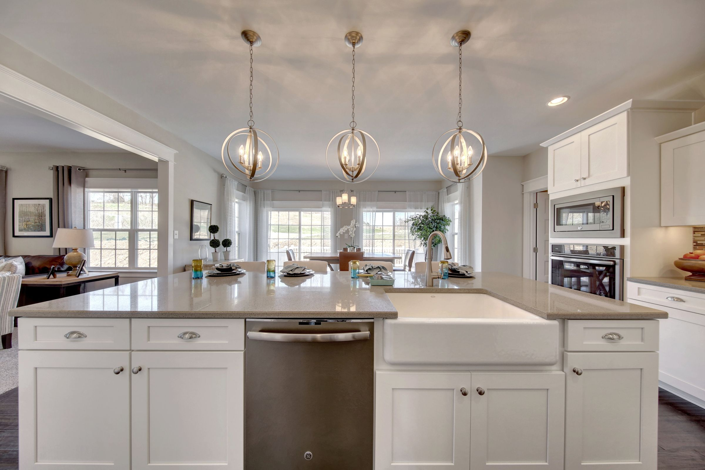 Kitchen featured in the Ethan Heritage By Keystone Custom Homes in York, PA