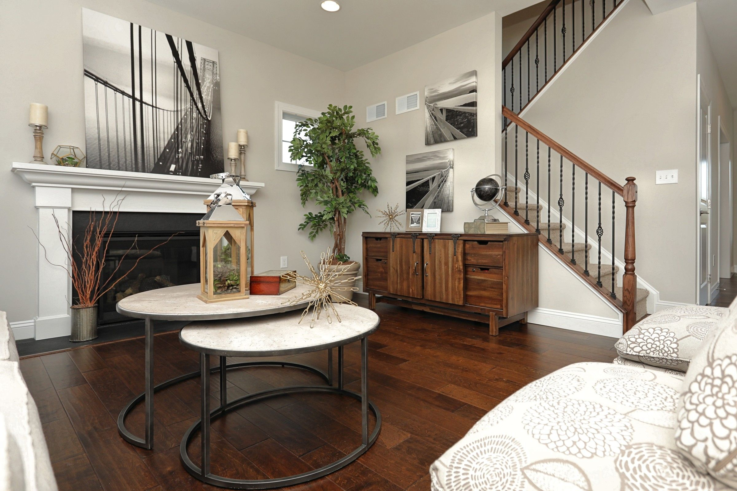 Living Area featured in the Windsor Heritage By Keystone Custom Homes in Philadelphia, PA