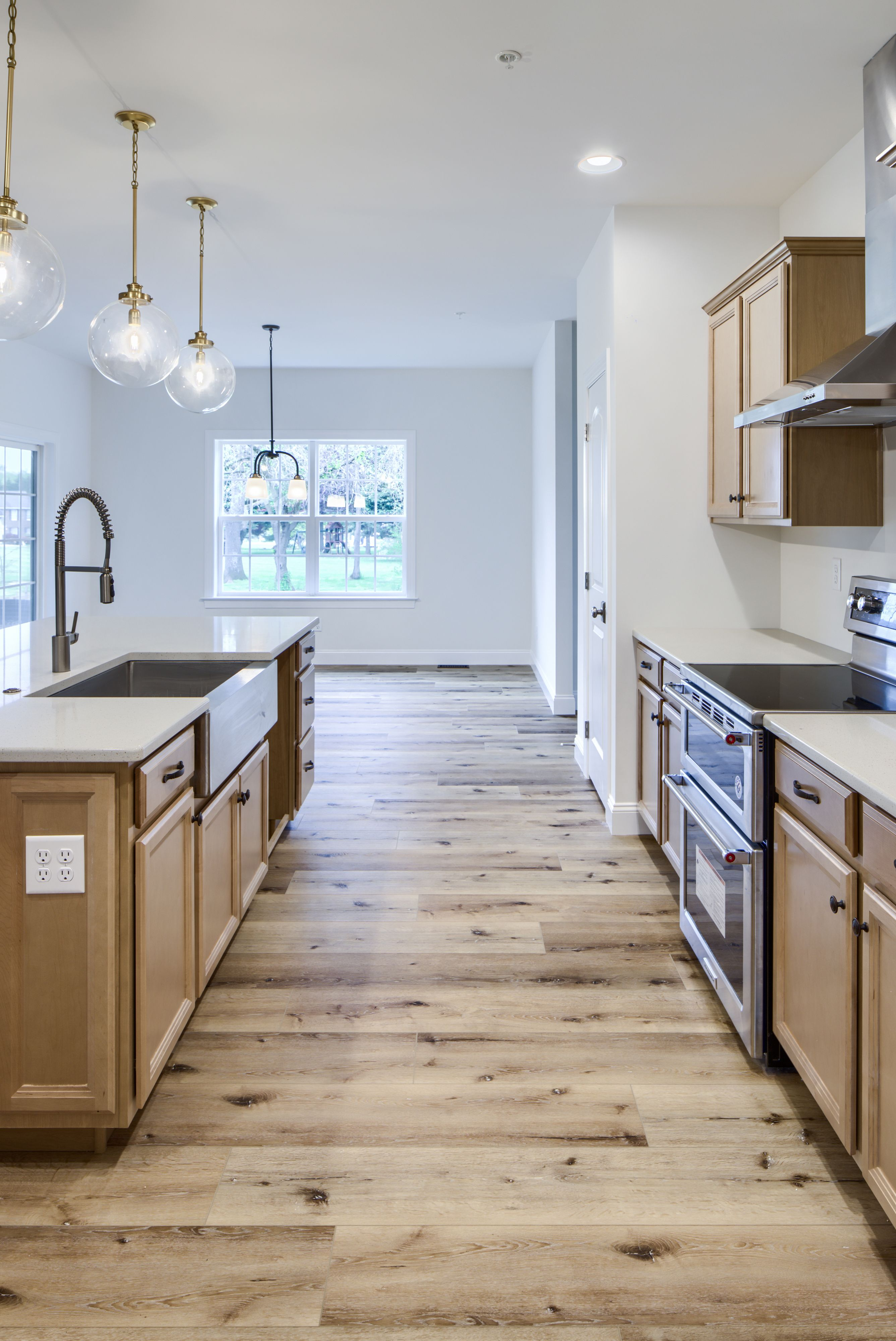 Kitchen featured in the Augusta Bordeaux By Keystone Custom Homes in Baltimore, MD
