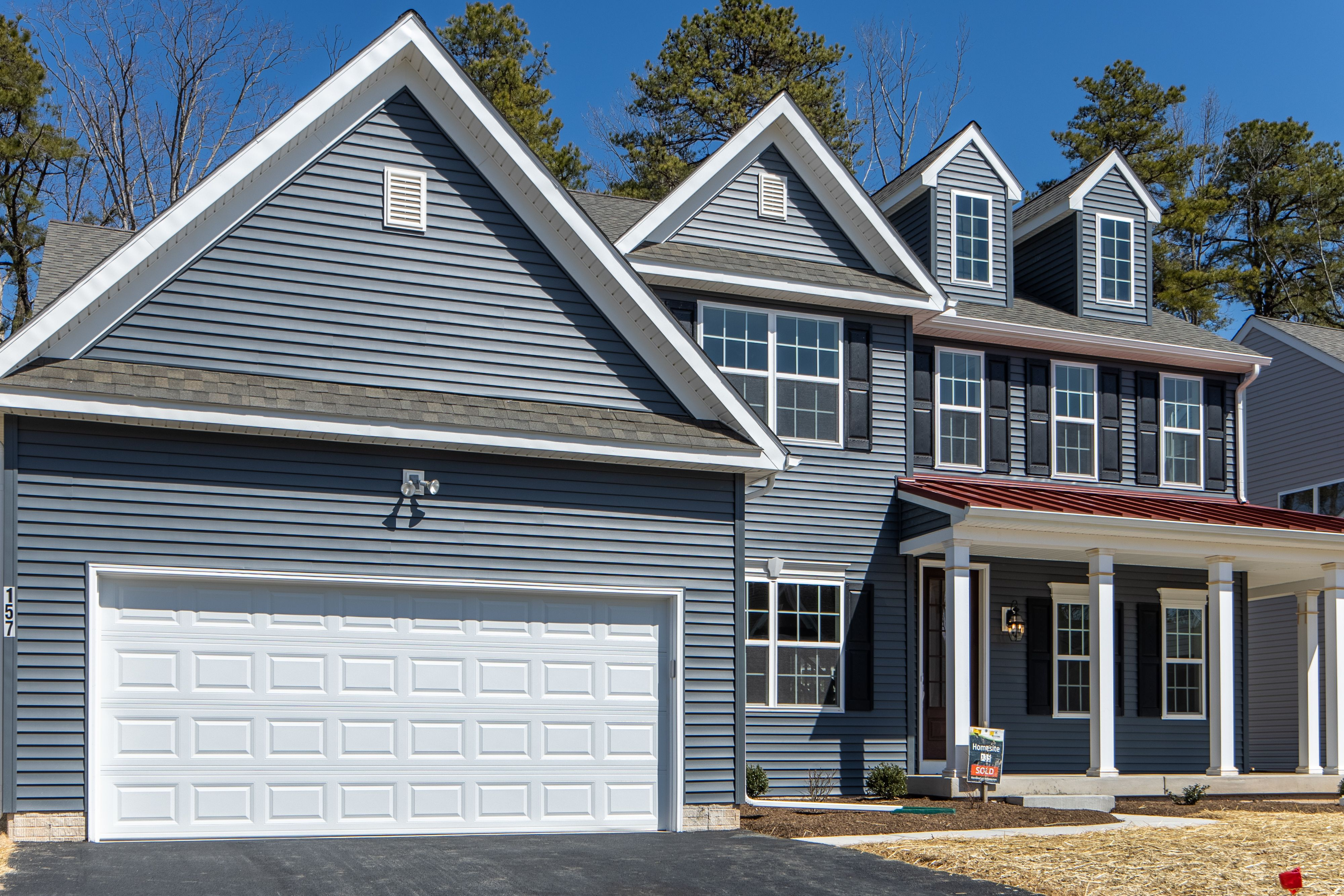 Exterior featured in the Augusta Heritage By Keystone Custom Homes in York, PA
