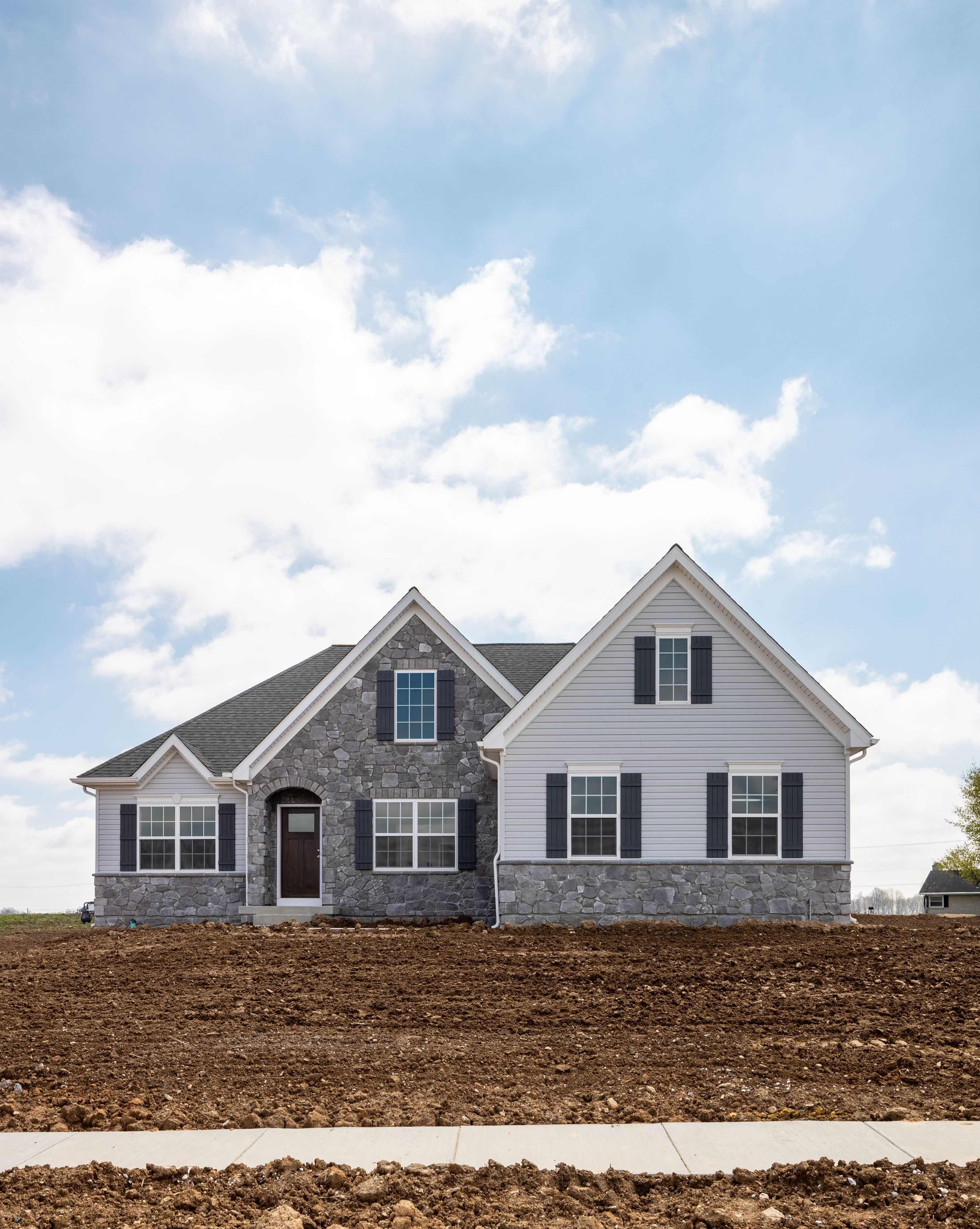 Exterior featured in the Arcadia Traditional By Keystone Custom Homes in Baltimore, MD