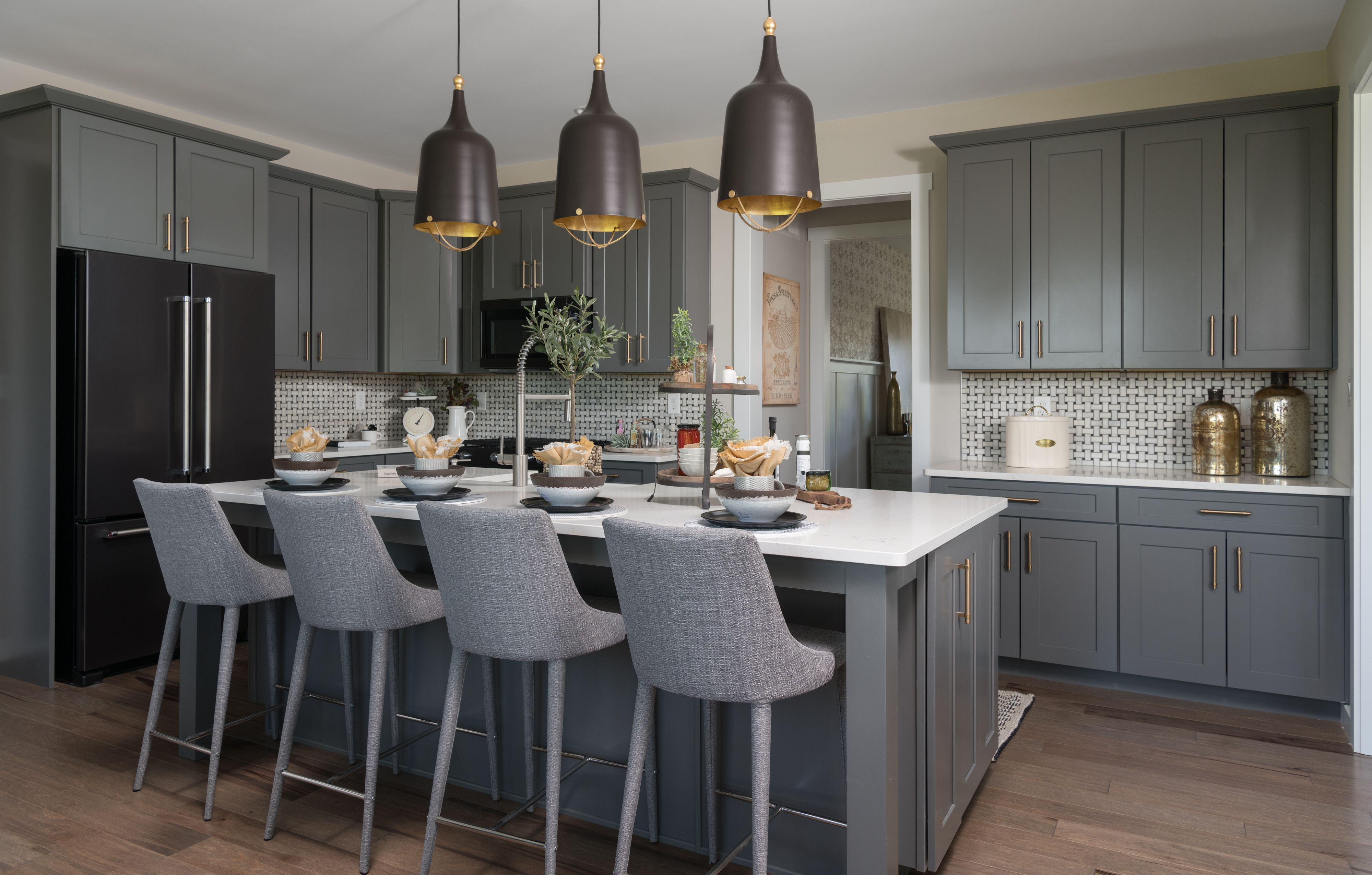 Kitchen featured in the Parker Farmhouse By Keystone Custom Homes in York, PA