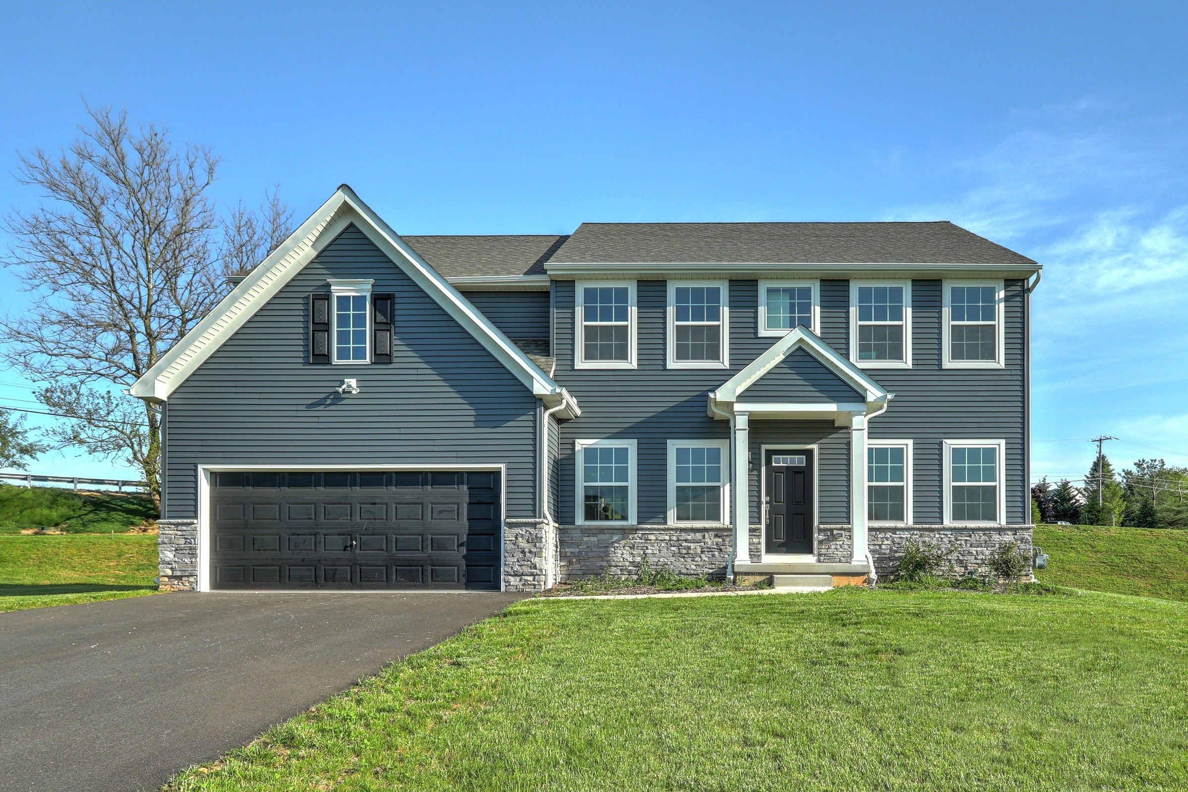 Exterior featured in the Parker Farmhouse By Keystone Custom Homes in York, PA