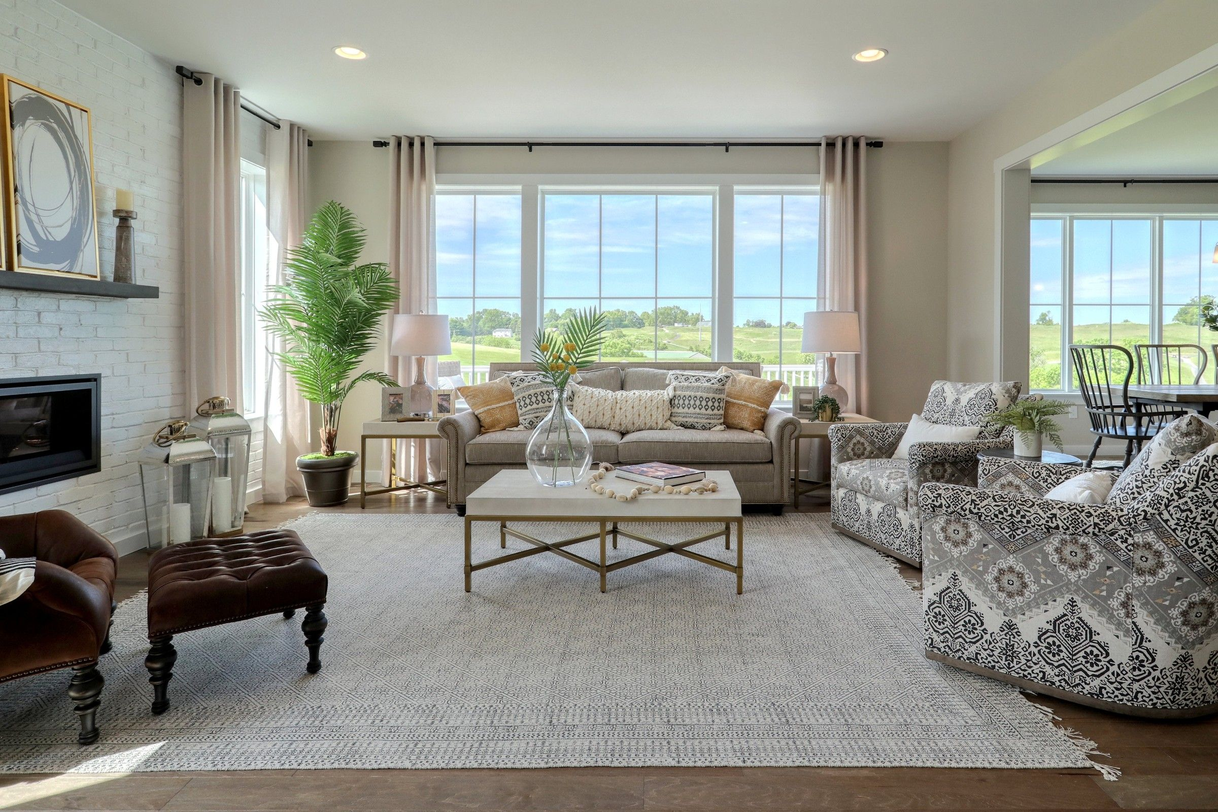 Living Area featured in the Parker Farmhouse By Keystone Custom Homes in Washington, MD