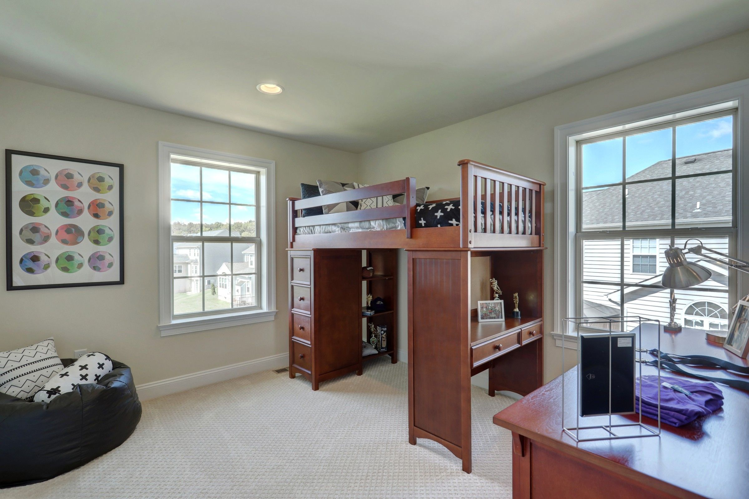 Bedroom featured in the Parker Farmhouse By Keystone Custom Homes in Wilmington-Newark, MD