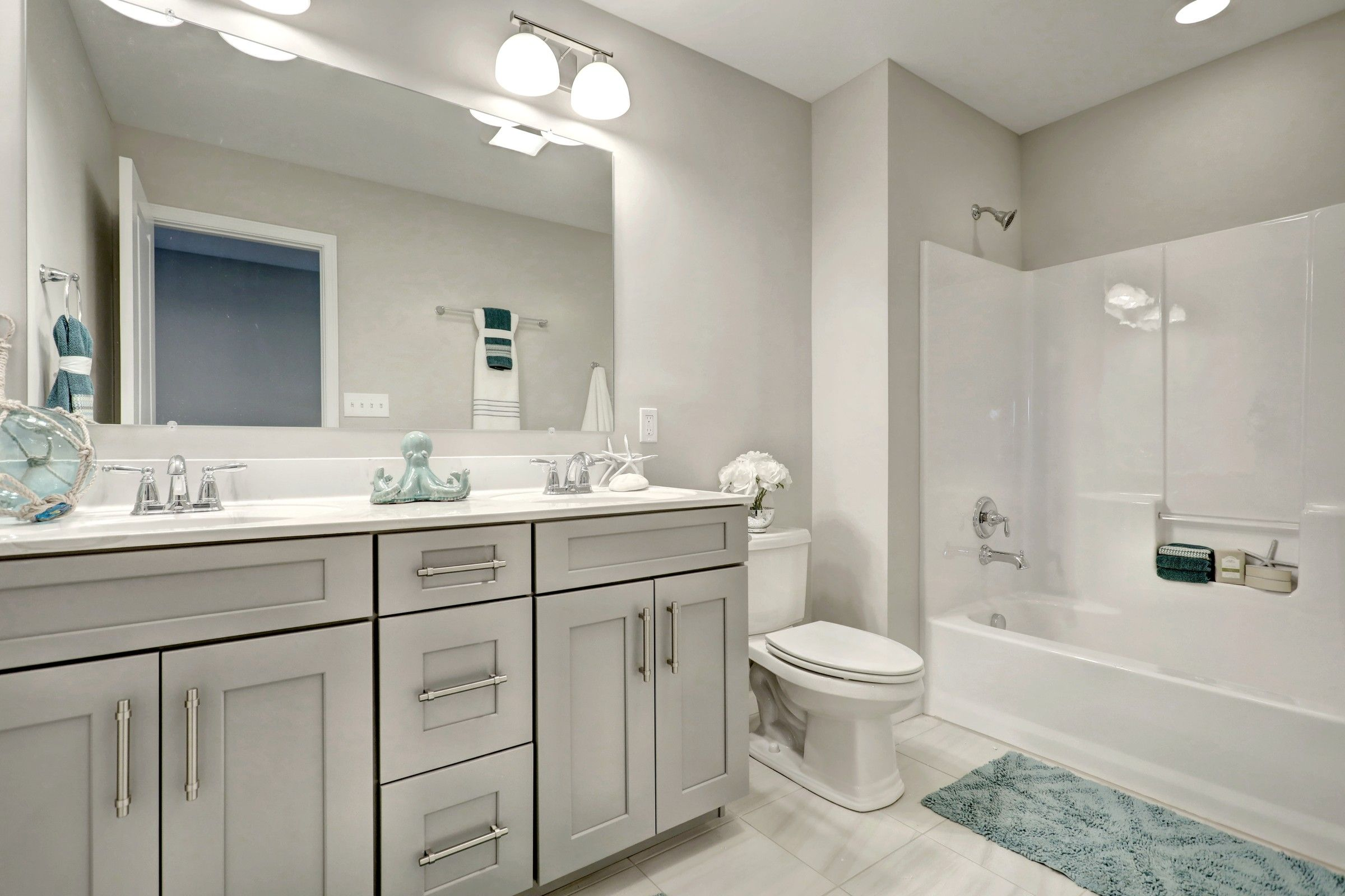 Bathroom featured in the Parker Farmhouse By Keystone Custom Homes in Wilmington-Newark, MD