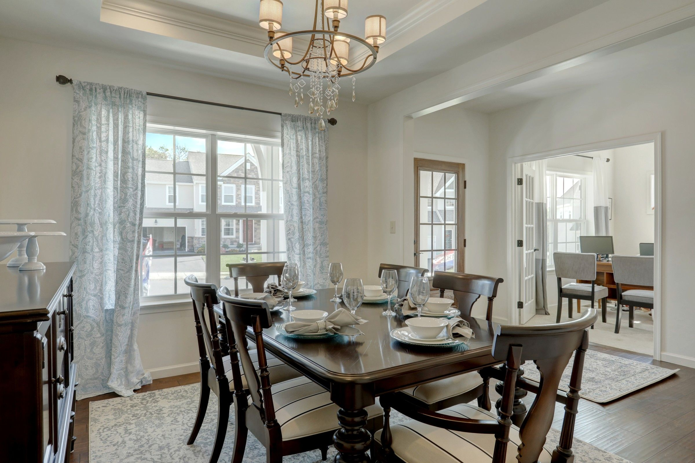 Living Area featured in the Parker Farmhouse By Keystone Custom Homes in Wilmington-Newark, MD