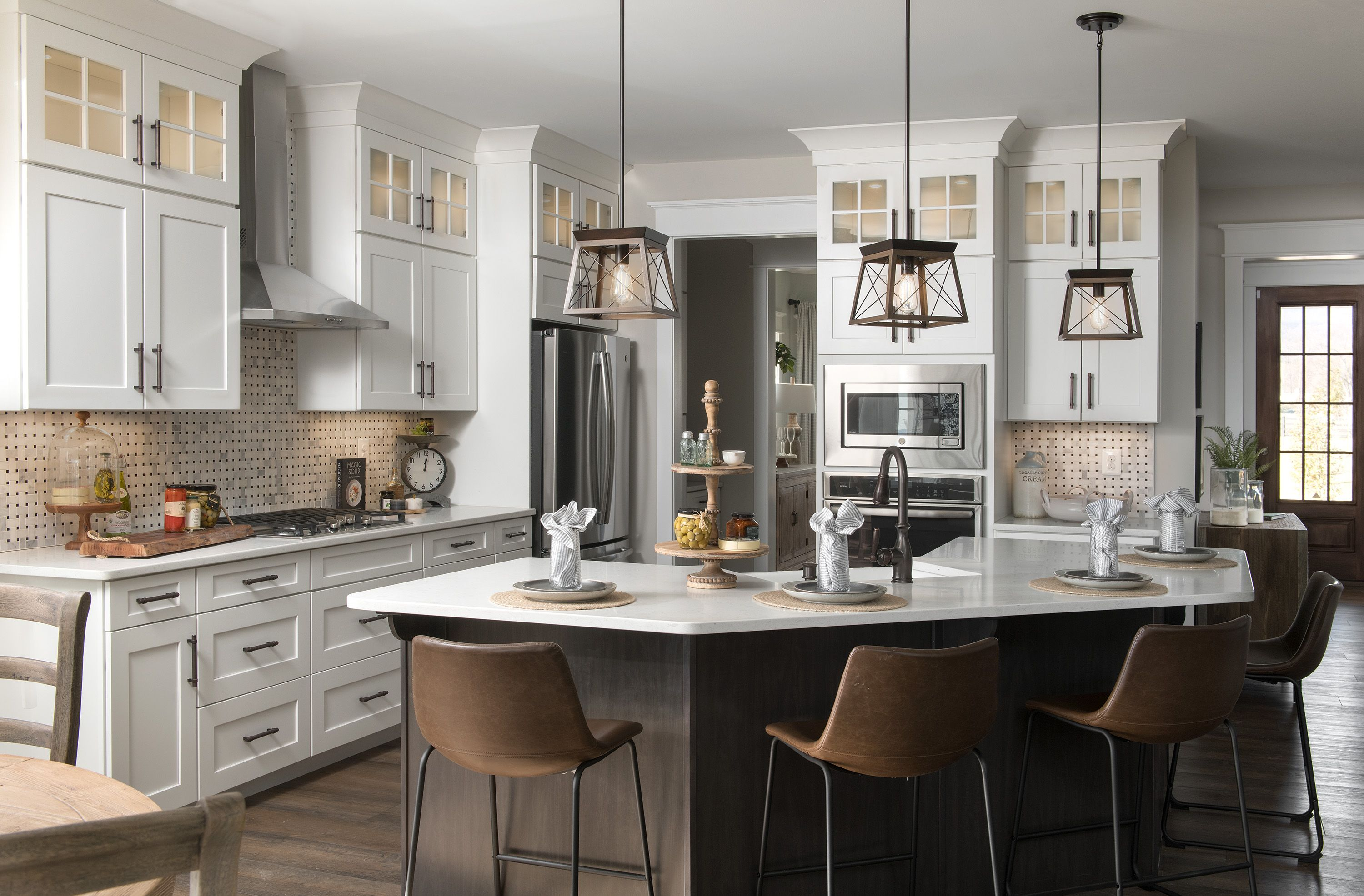 Kitchen featured in the Nottingham Farmhouse By Keystone Custom Homes in Baltimore, MD