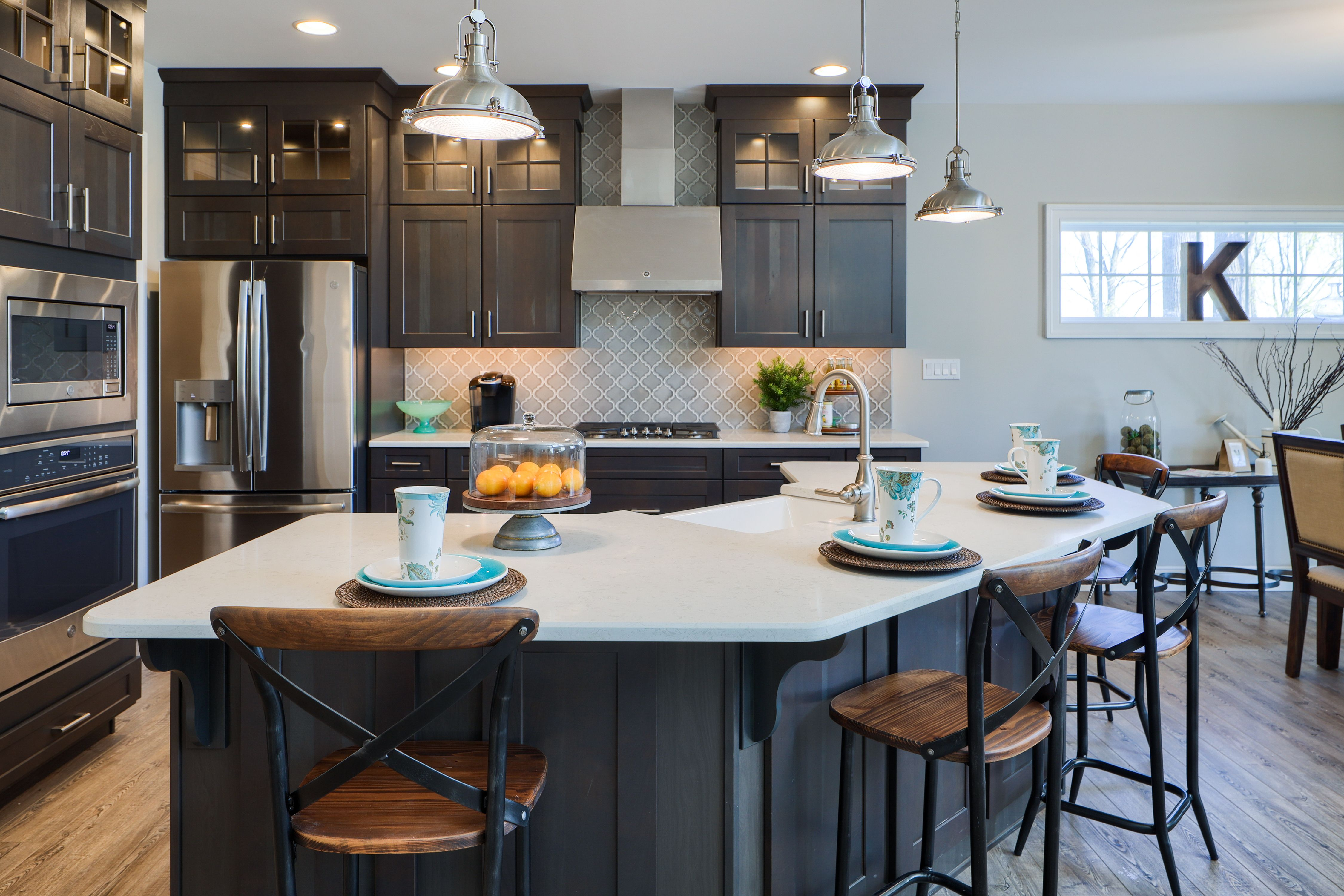 Kitchen featured in the Nottingham Bordeaux By Keystone Custom Homes in Baltimore, MD