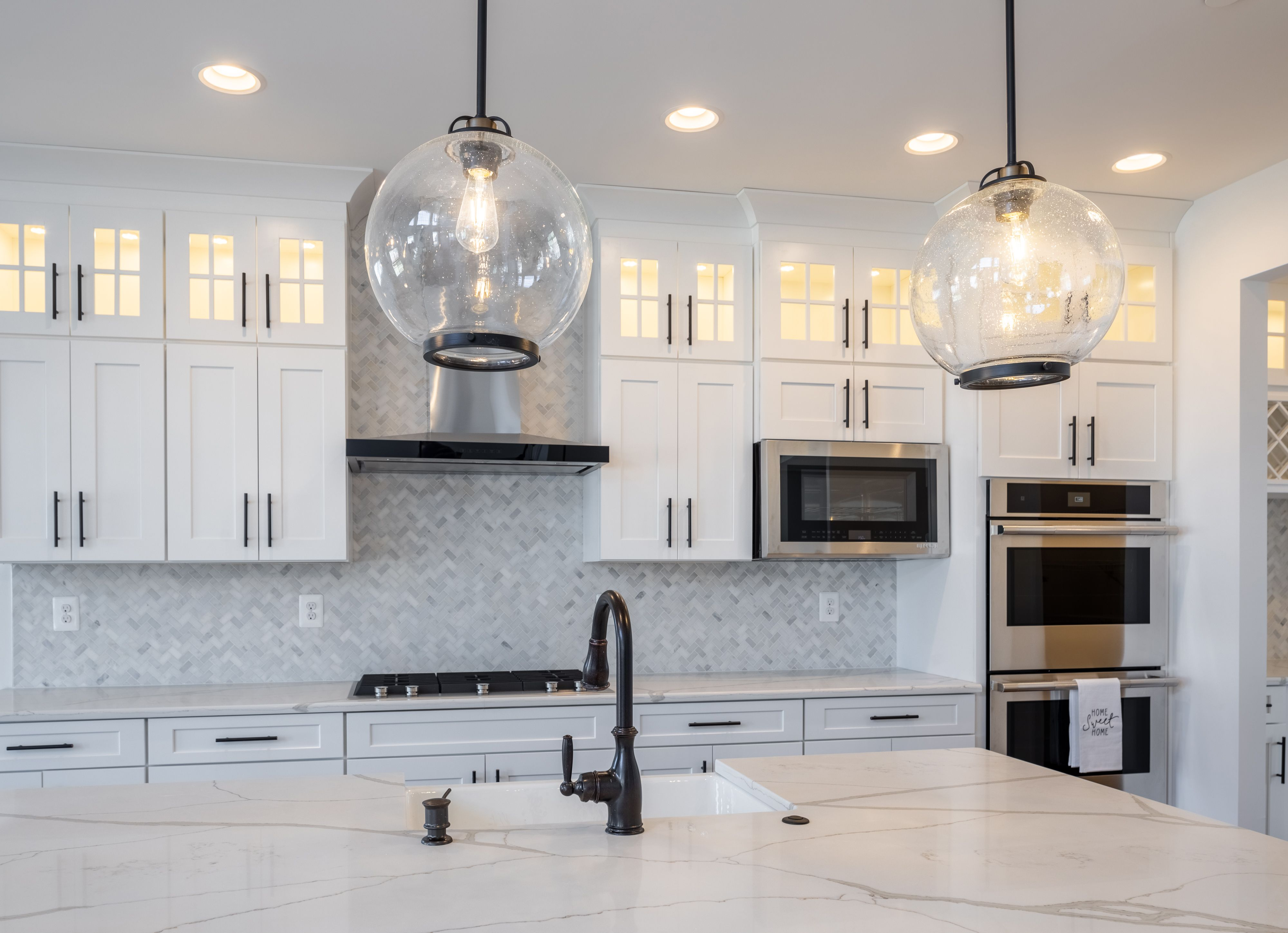 Kitchen featured in the Nottingham Farmhouse By Keystone Custom Homes in Lancaster, PA