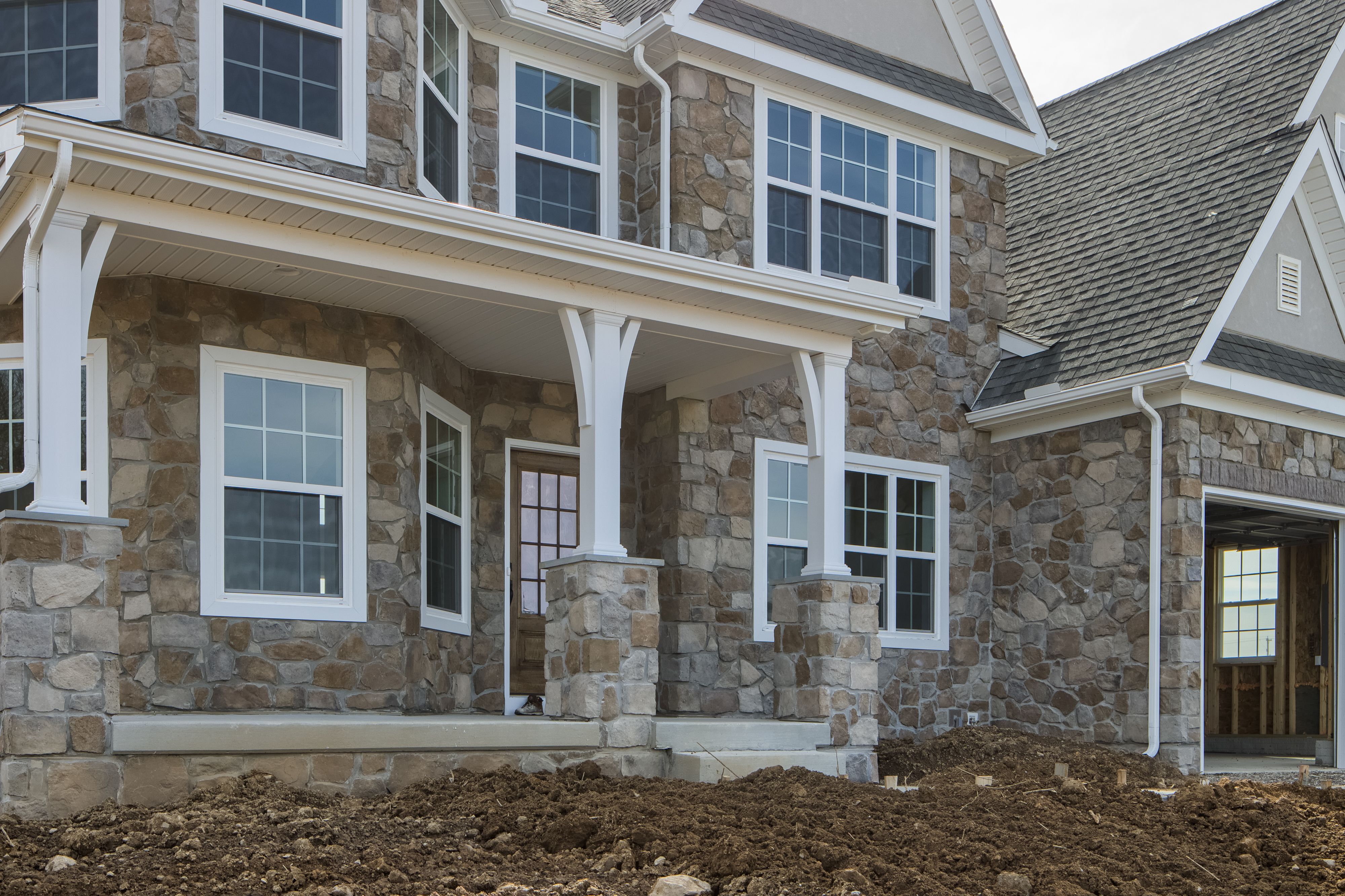Exterior featured in the Nottingham Manor By Keystone Custom Homes in Baltimore, MD