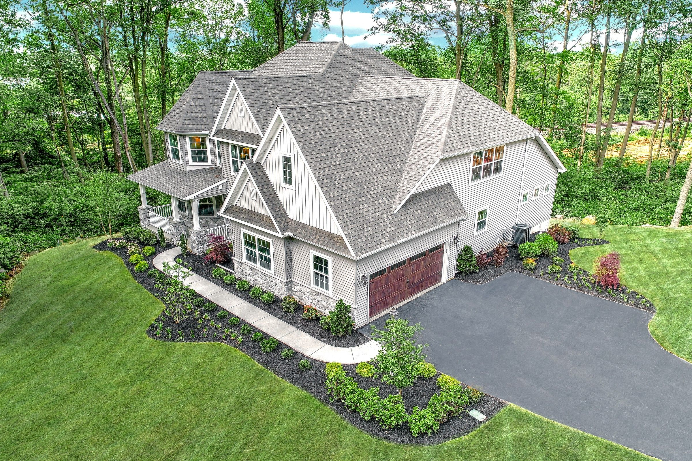 Exterior featured in the Nottingham Heritage By Keystone Custom Homes in York, PA