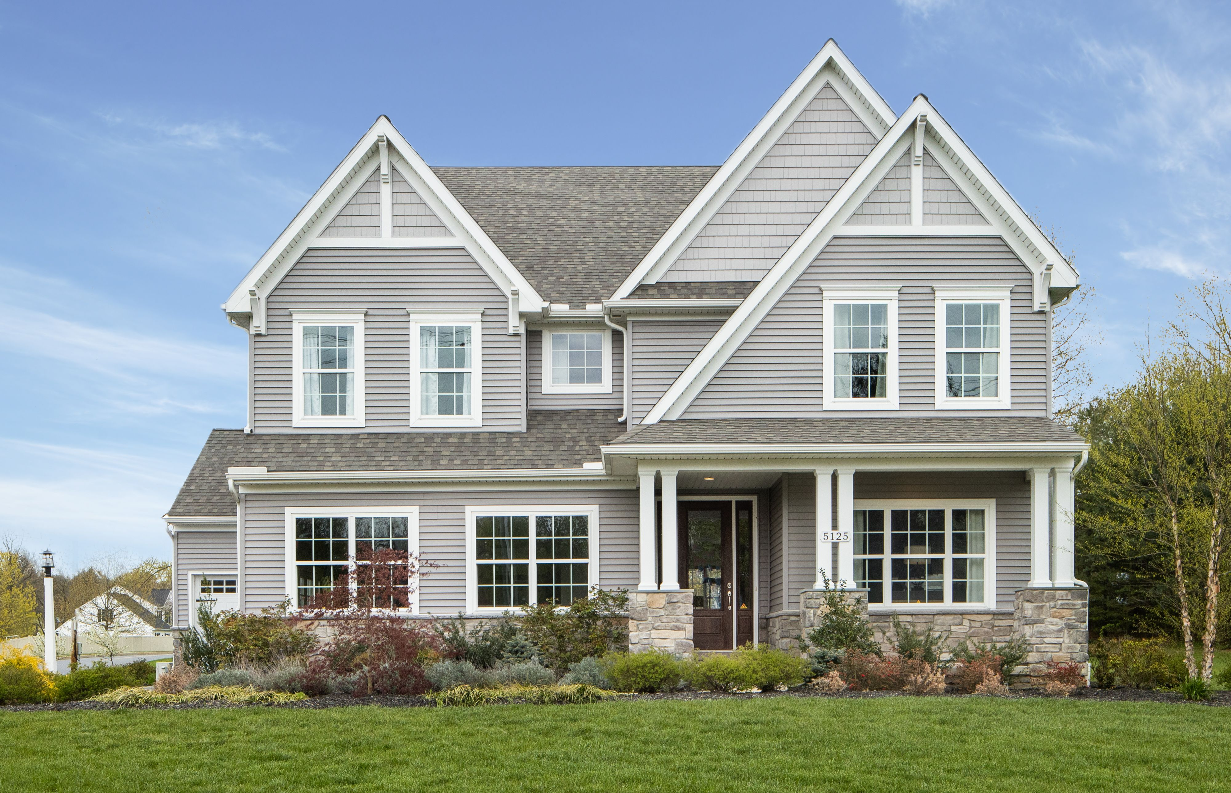 Exterior featured in the Covington Manor By Keystone Custom Homes in Baltimore, MD