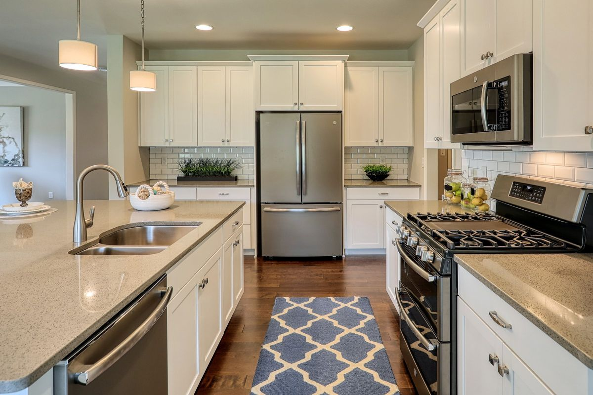 Kitchen featured in the Covington Farmhouse By Keystone Custom Homes in Baltimore, MD