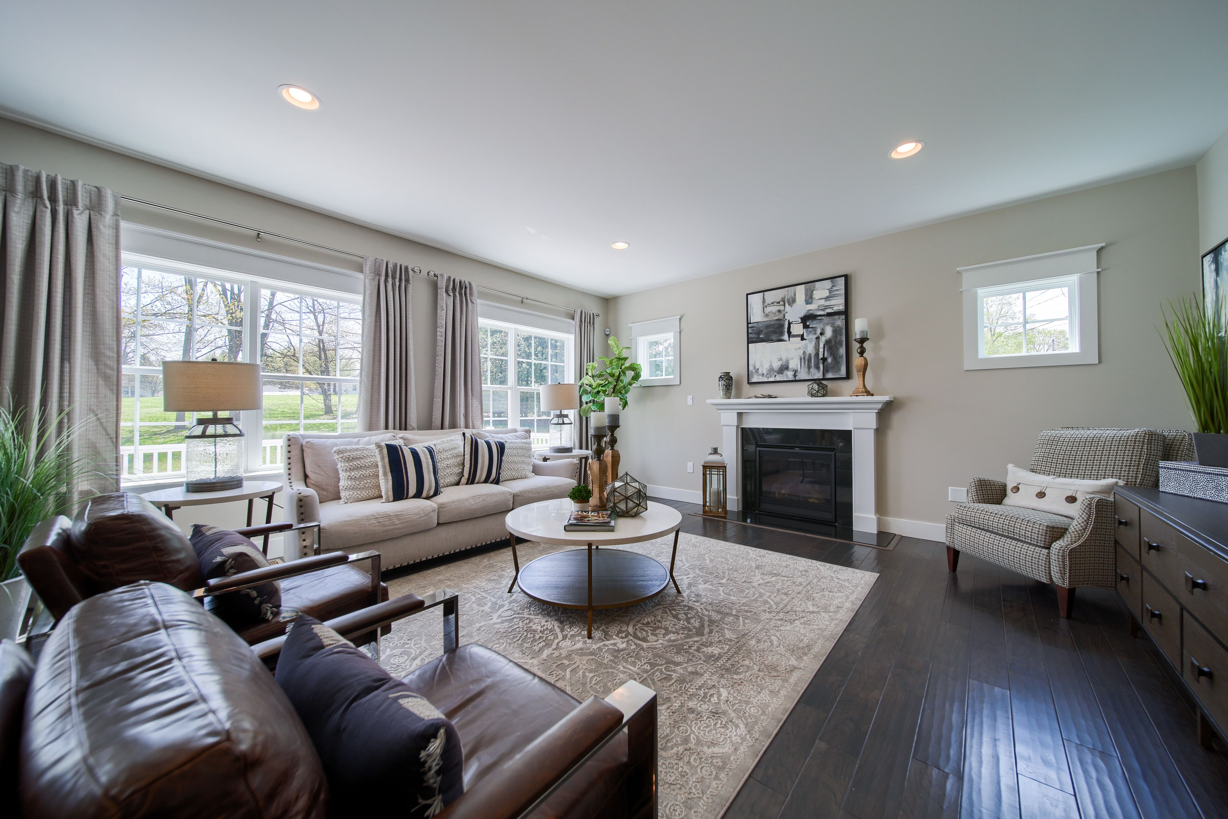 Living Area featured in the Covington Vintage By Keystone Custom Homes in Lancaster, PA