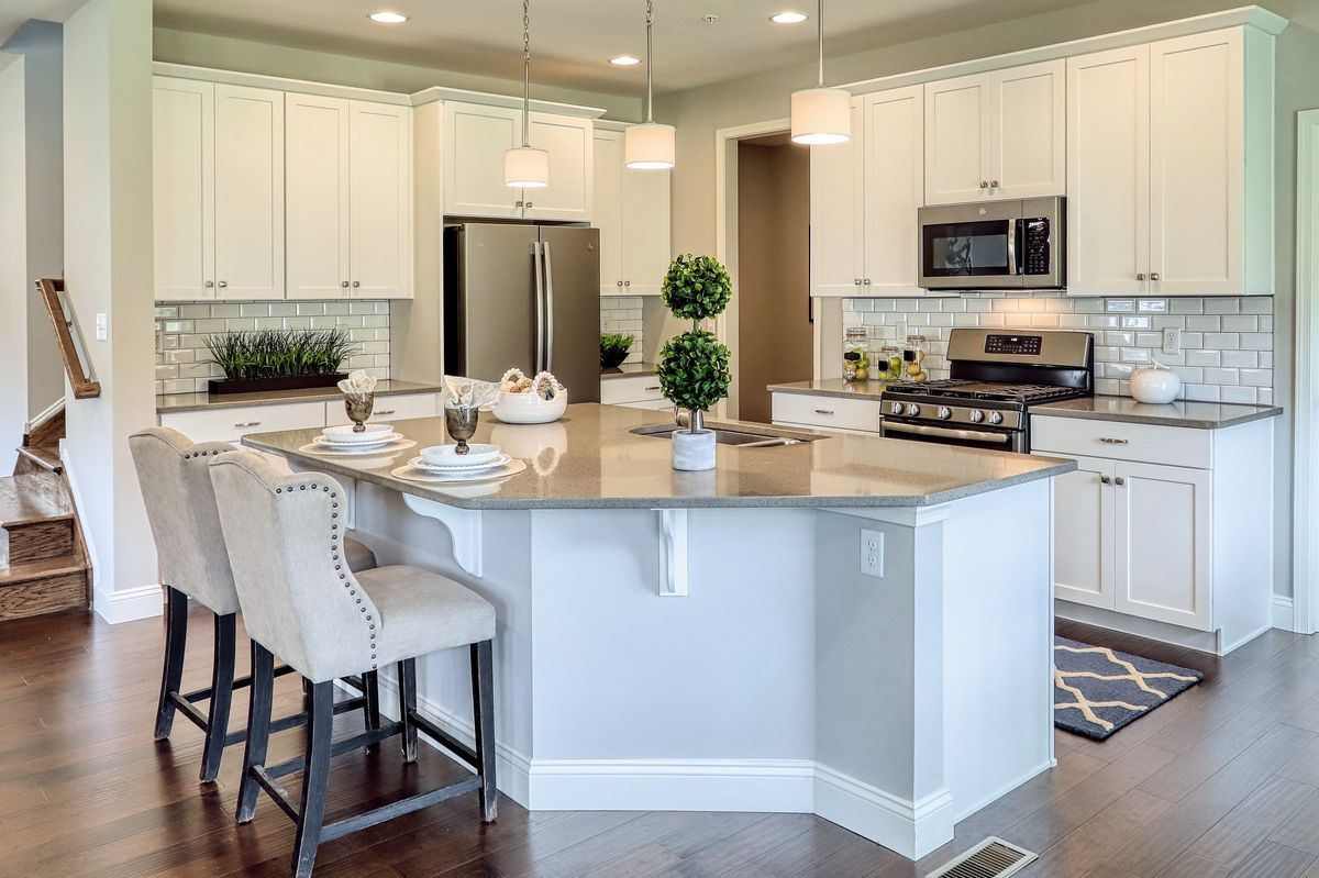 Kitchen featured in the Covington Manor By Keystone Custom Homes in Baltimore, MD