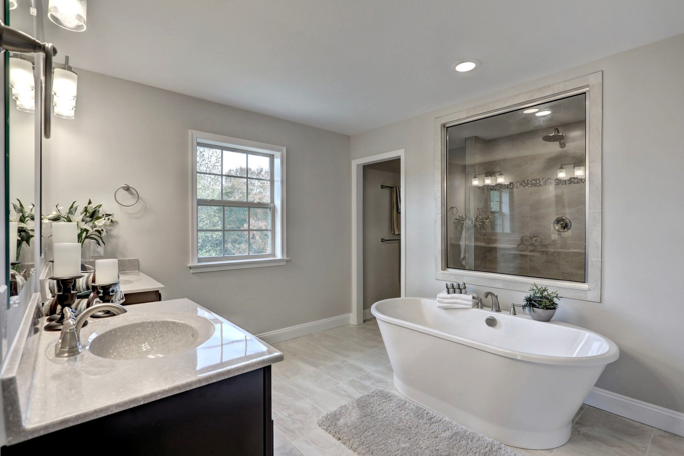 Bathroom featured in the Covington Traditional By Keystone Custom Homes in Baltimore, MD