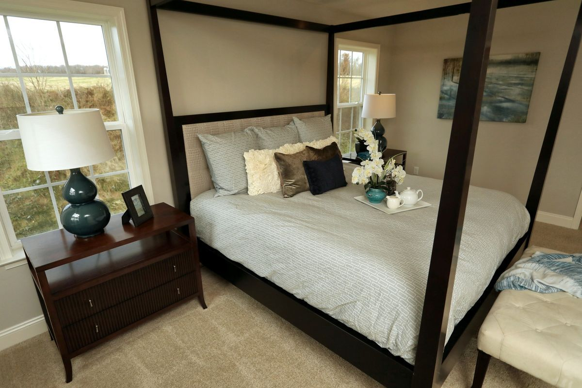 Bedroom featured in the Covington Traditional By Keystone Custom Homes in Baltimore, MD