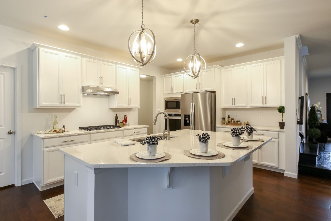 Kitchen featured in the Covington Manor By Keystone Custom Homes in Wilmington-Newark, MD