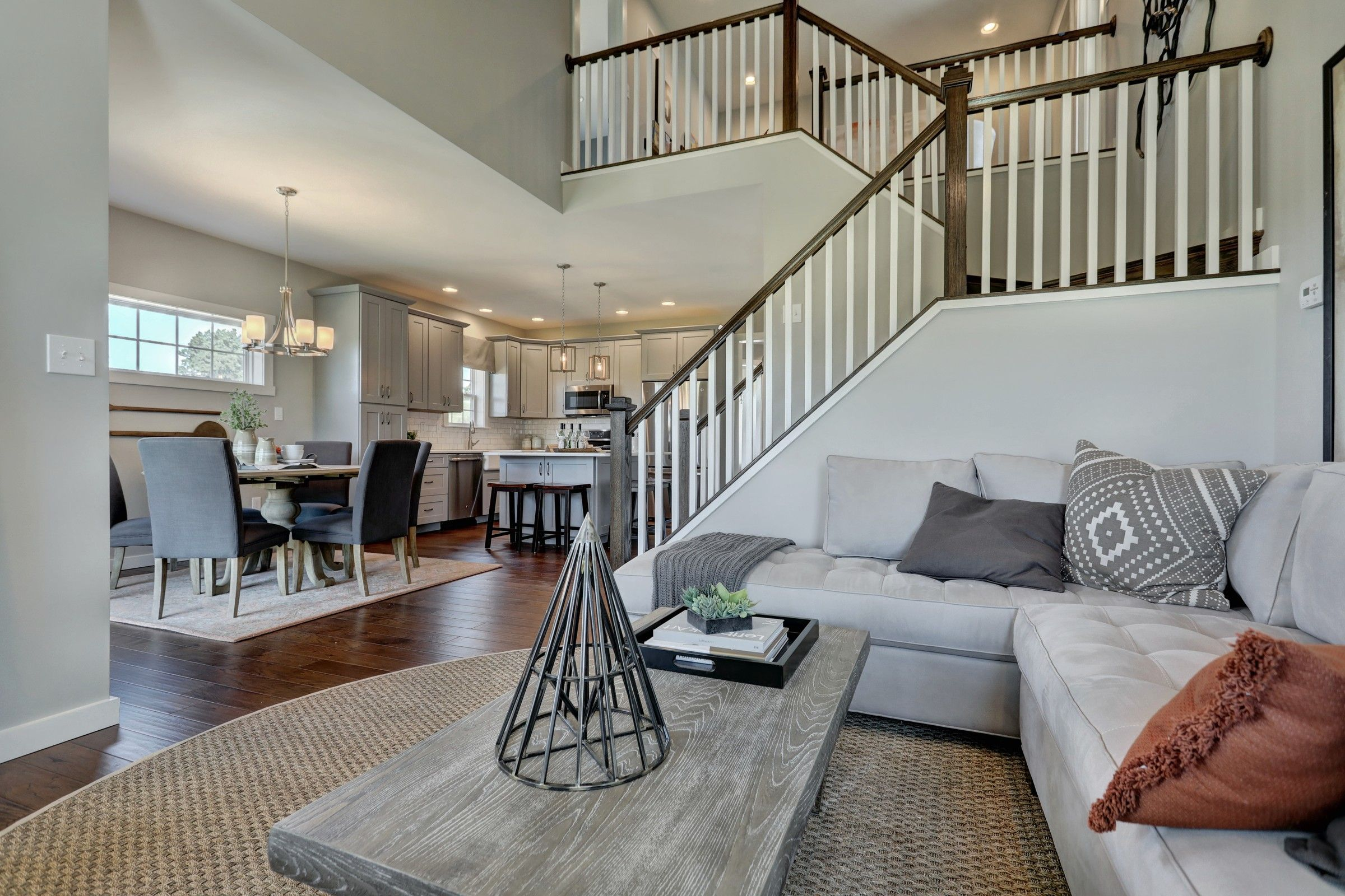 Living Area featured in the Andrews Heritage By Keystone Custom Homes in Harrisburg, PA