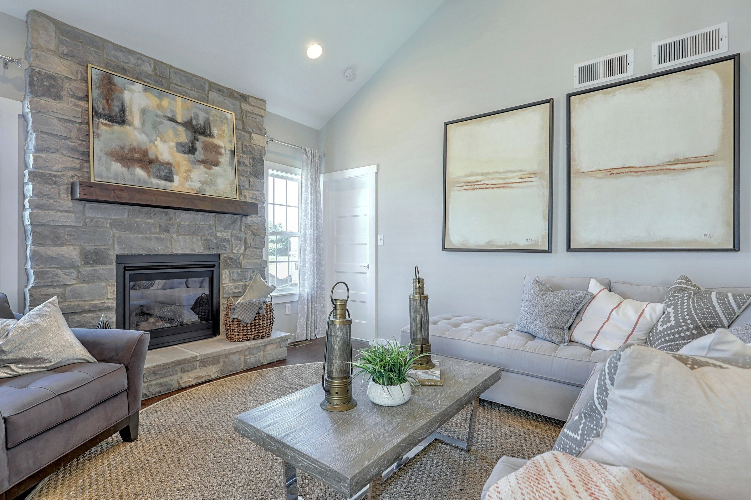Living Area featured in the Andrews Vintage By Keystone Custom Homes in Philadelphia, PA