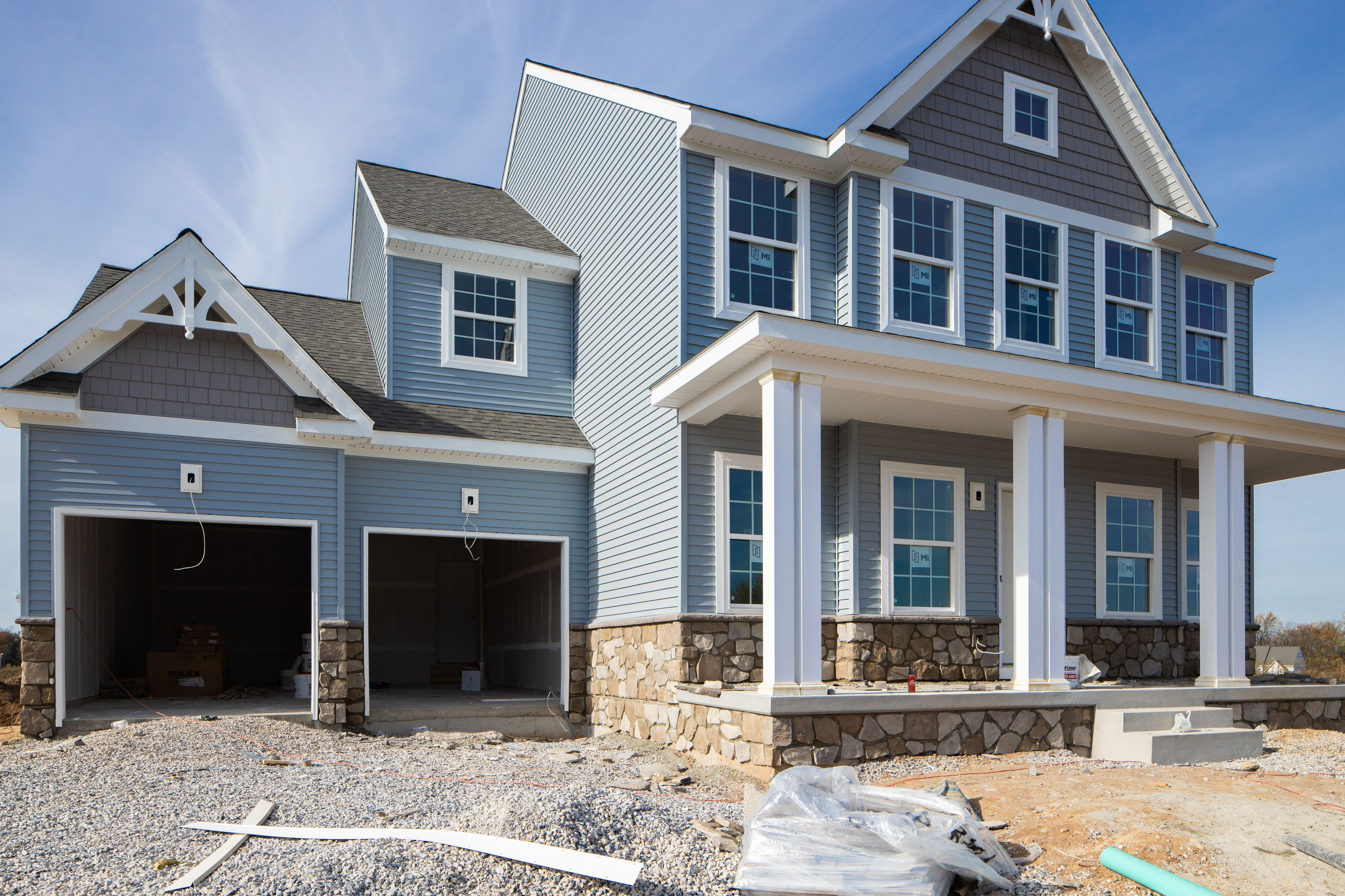 Exterior featured in the Addison Farmhouse By Keystone Custom Homes in York, PA