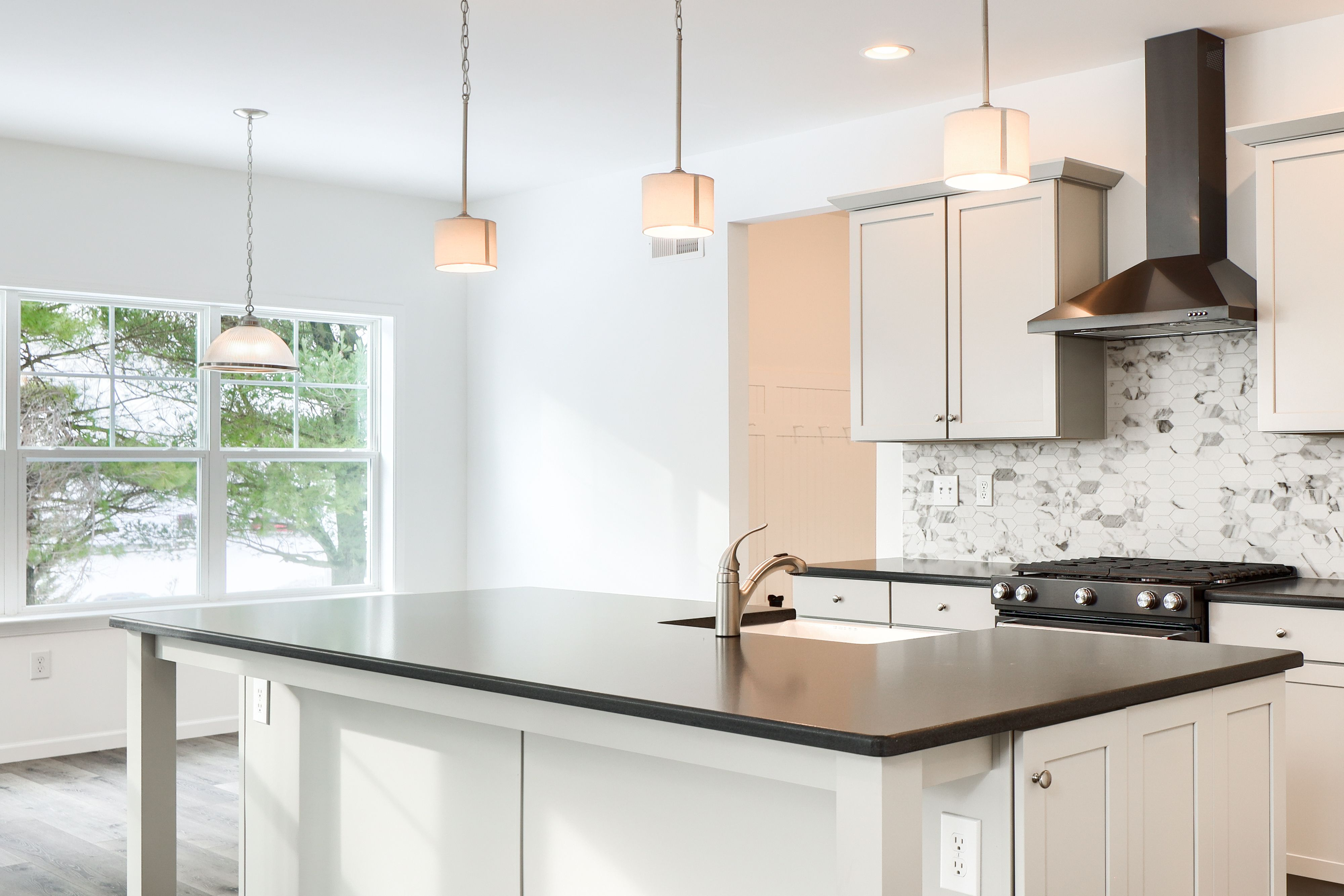 Kitchen featured in the Addison Vintage By Keystone Custom Homes in Washington, MD