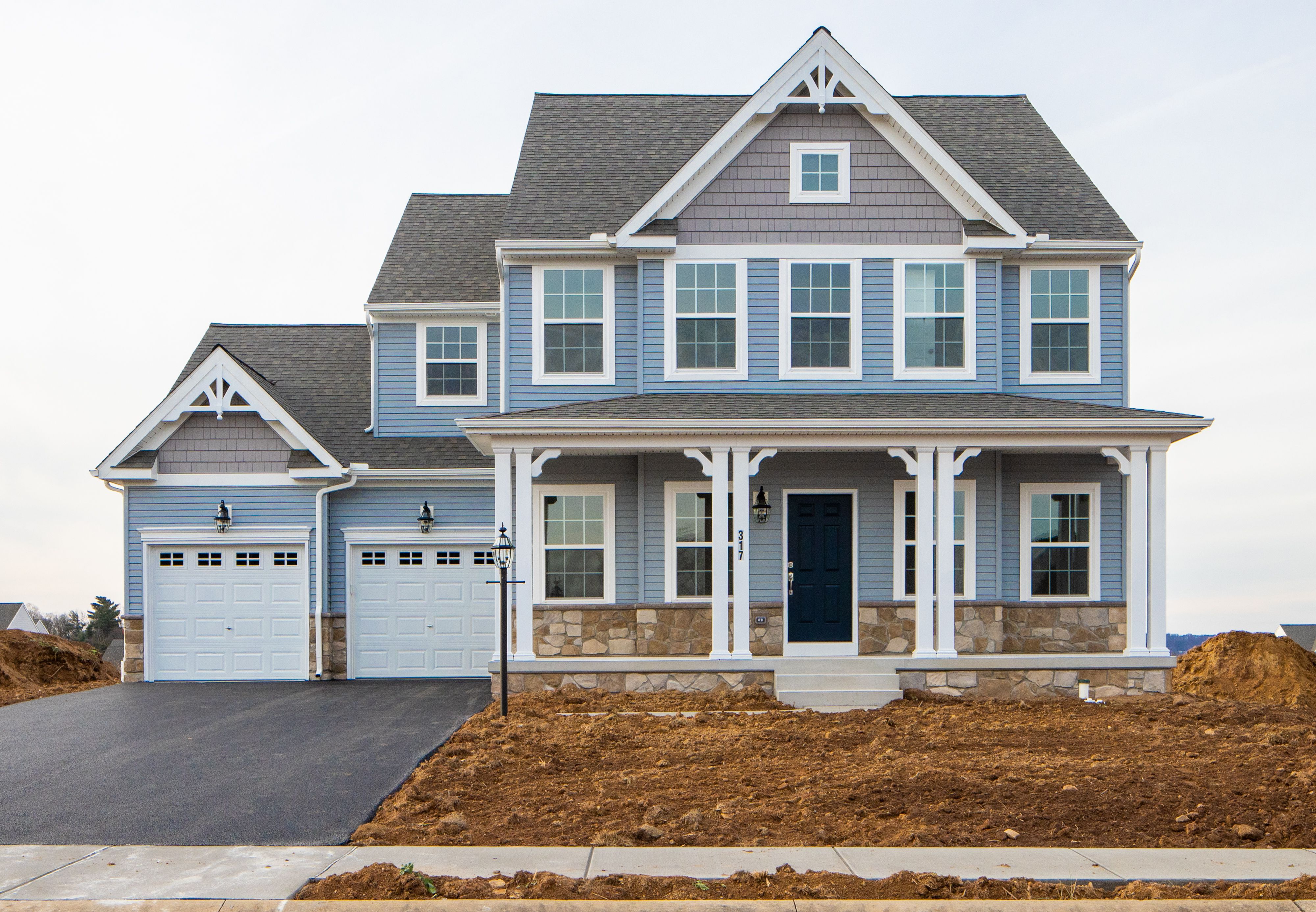 Exterior featured in the Addison Vintage By Keystone Custom Homes in Washington, MD